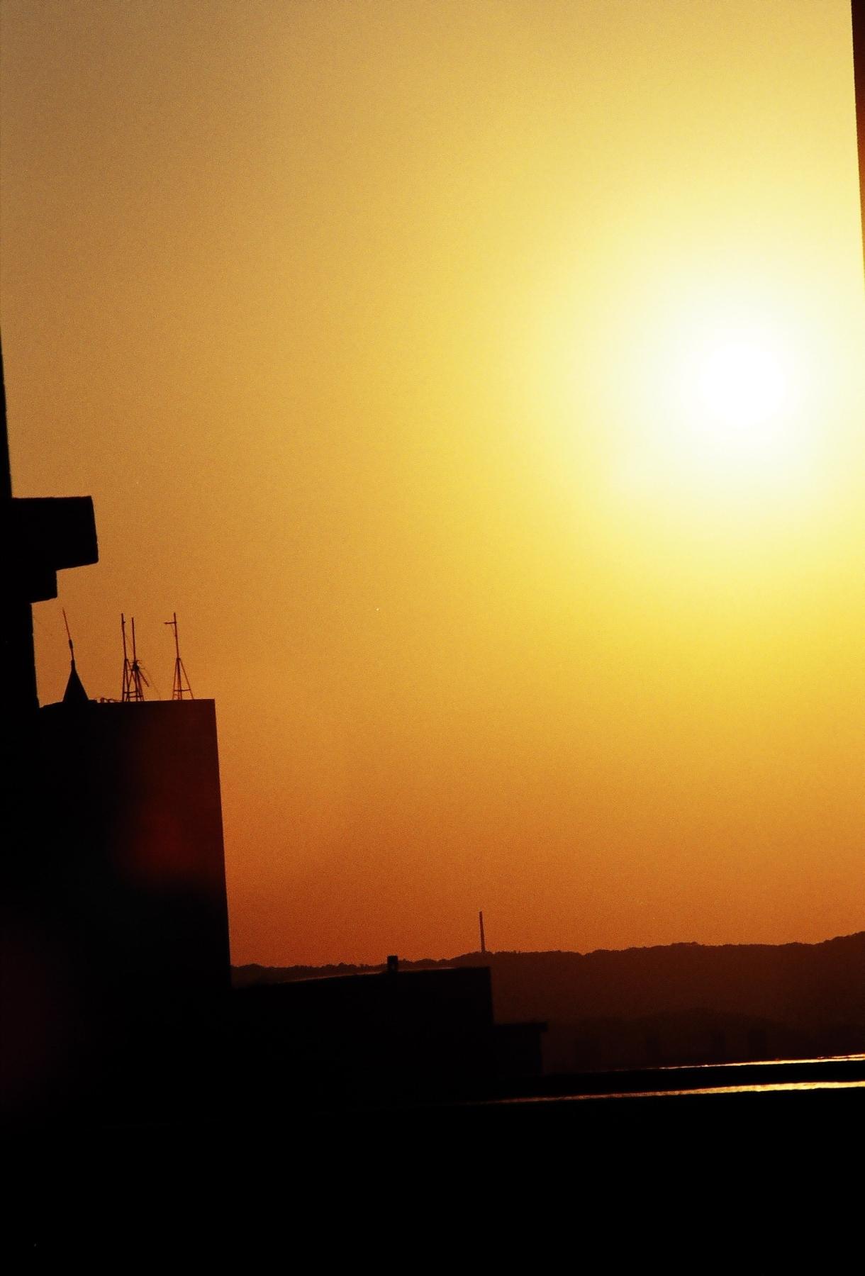 Orange sky photo