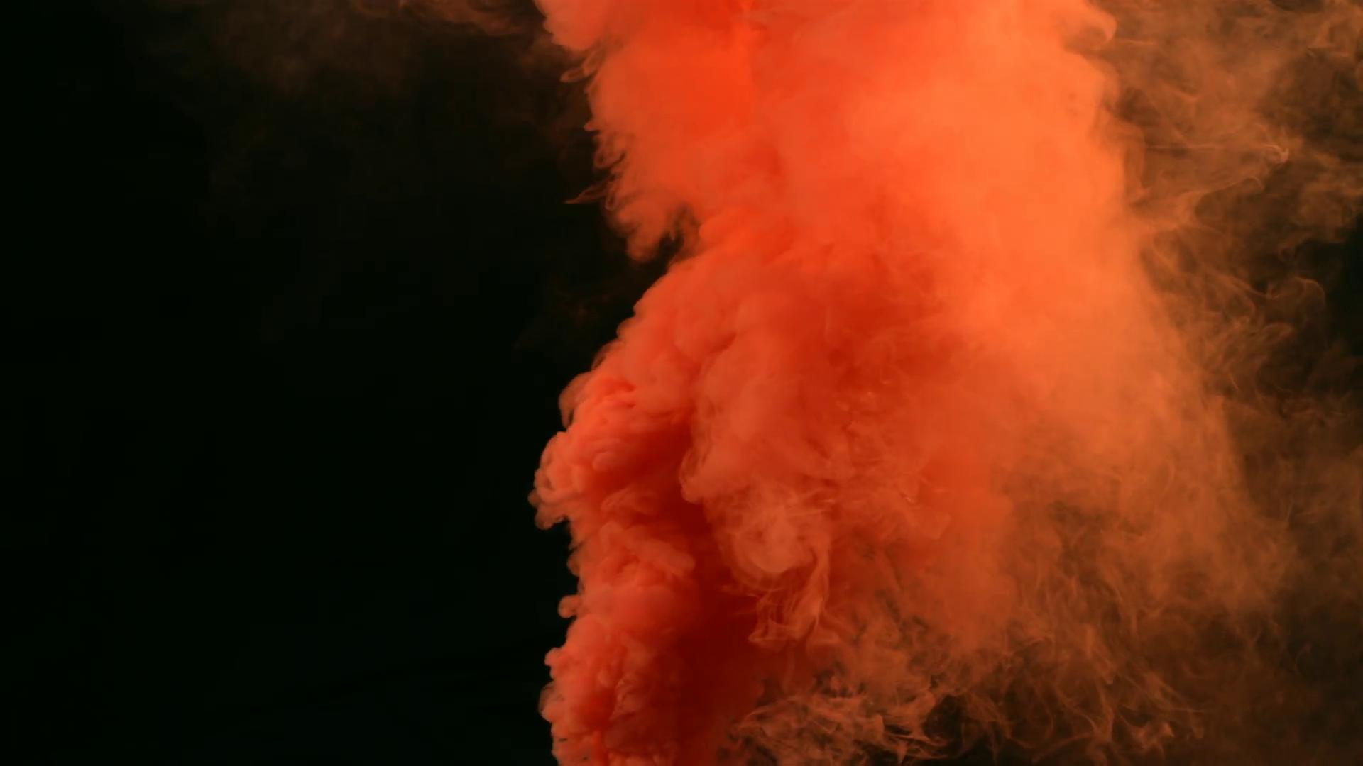 Free photo: Orange Smoke - Smooth, Smoke, Smell - Free ...