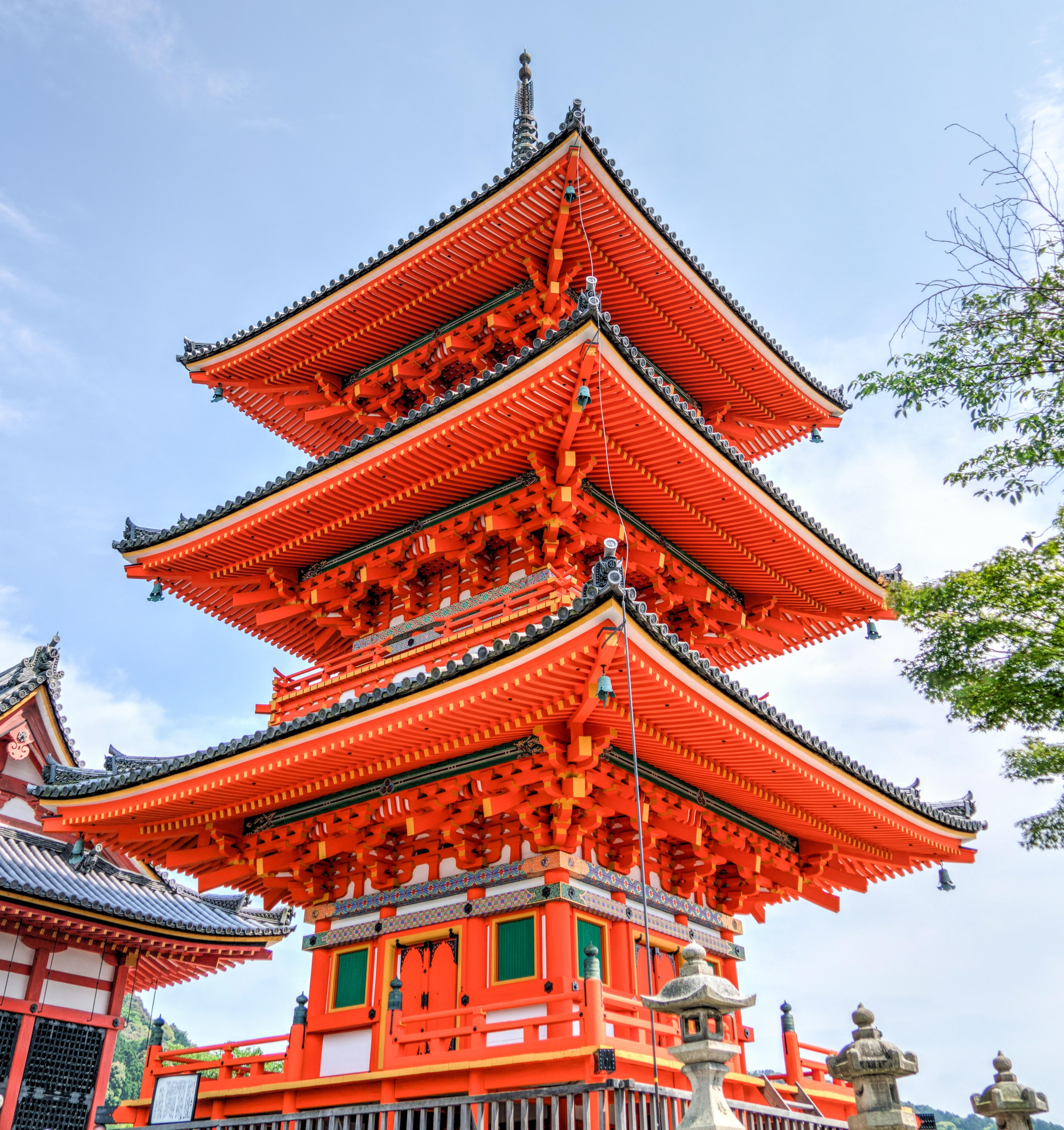 Orange  temple photo