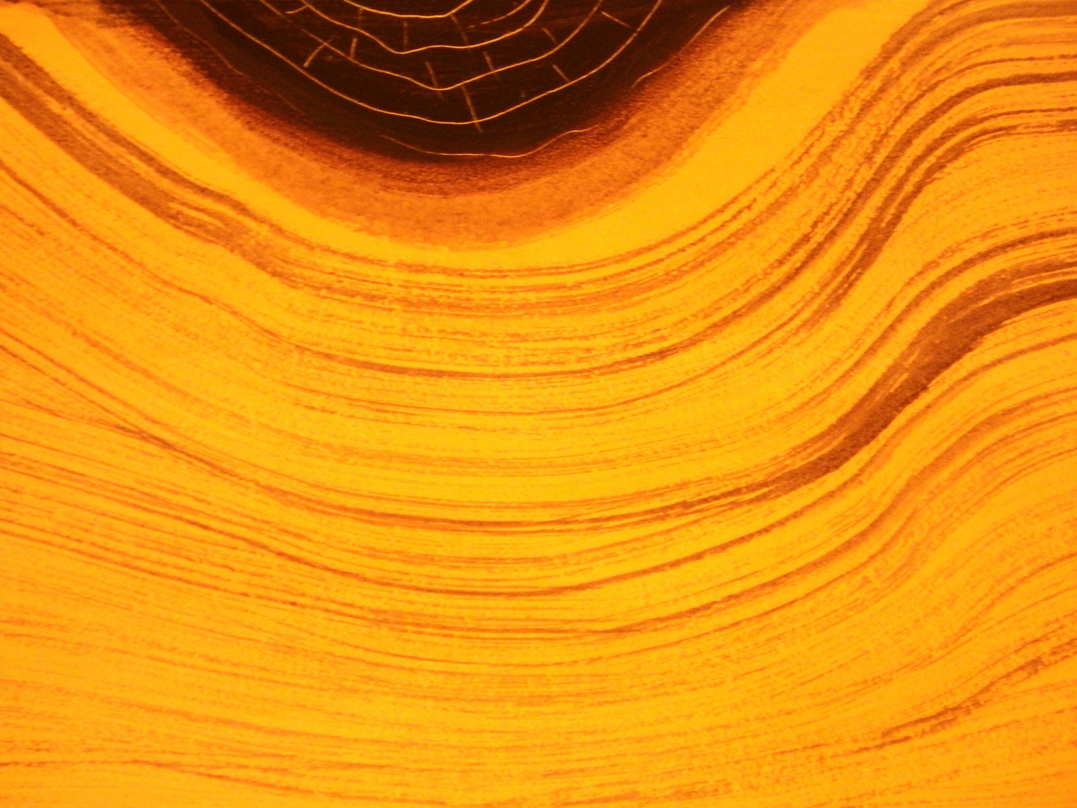 Orange wood grain background photo