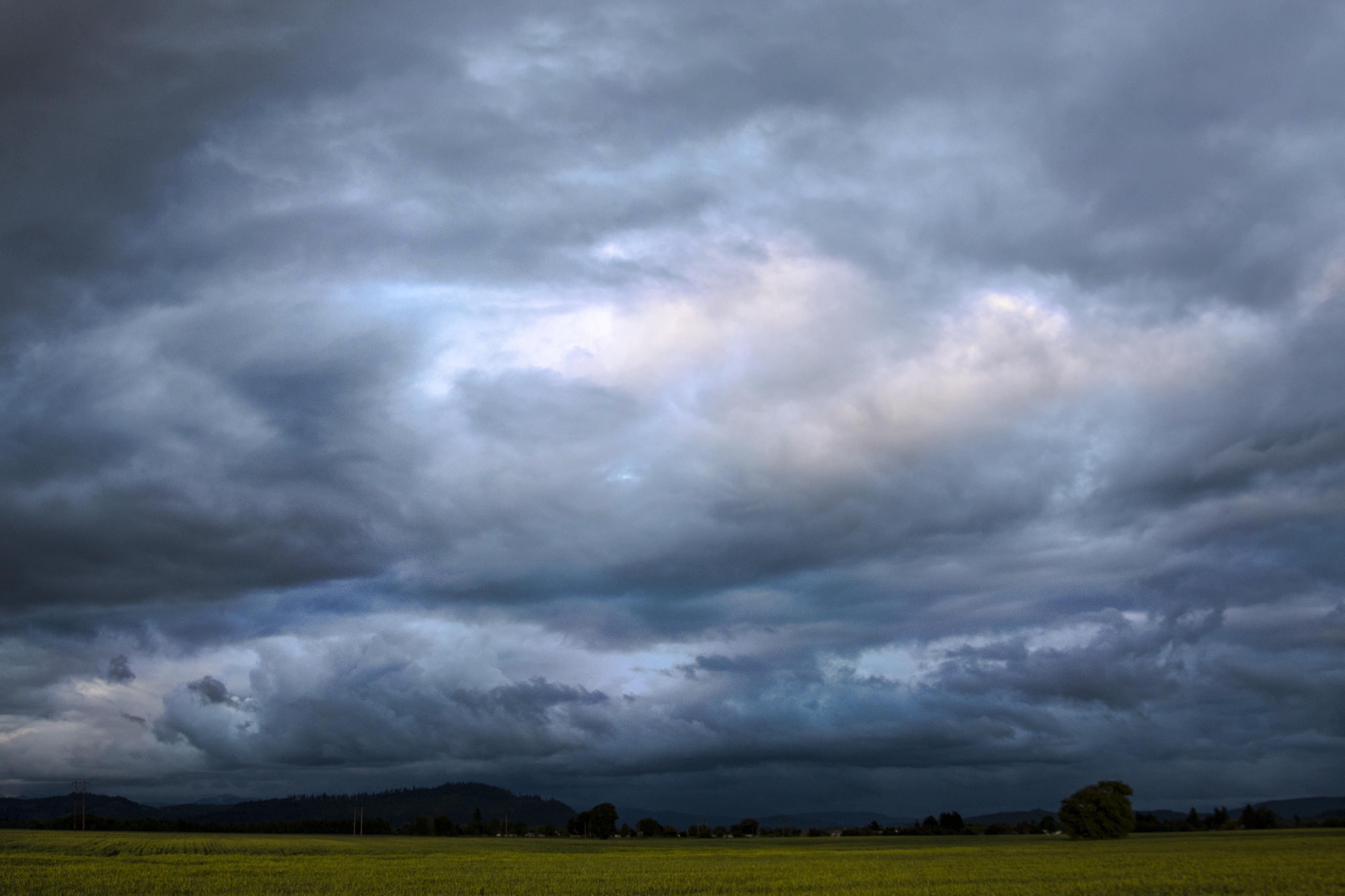 Oregon Stormy Skies, Landscape, Oregon, Skies, Sky, HQ Photo
