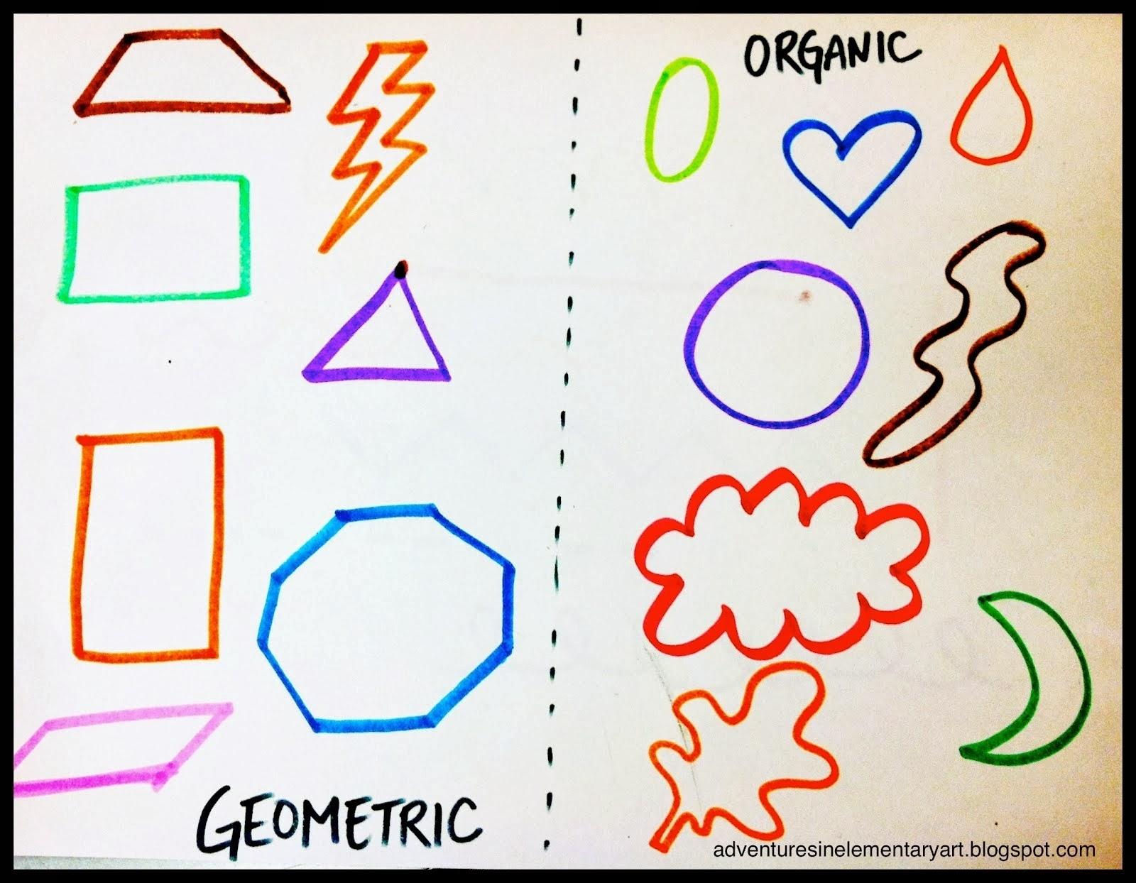 Organic shapes photo