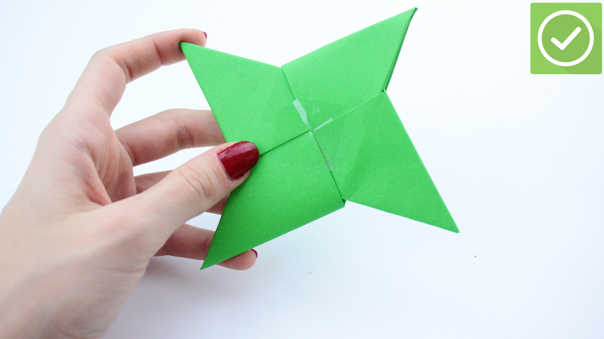How to Fold an Origami Star (Shuriken) (with Pictures) - wikiHow