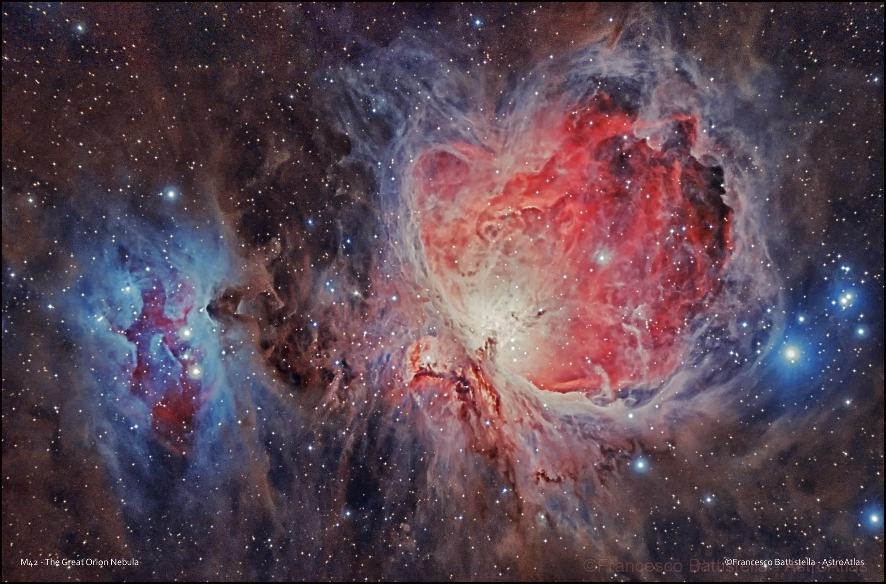APOD: 2017 November 29 - M42: The Great Orion Nebula