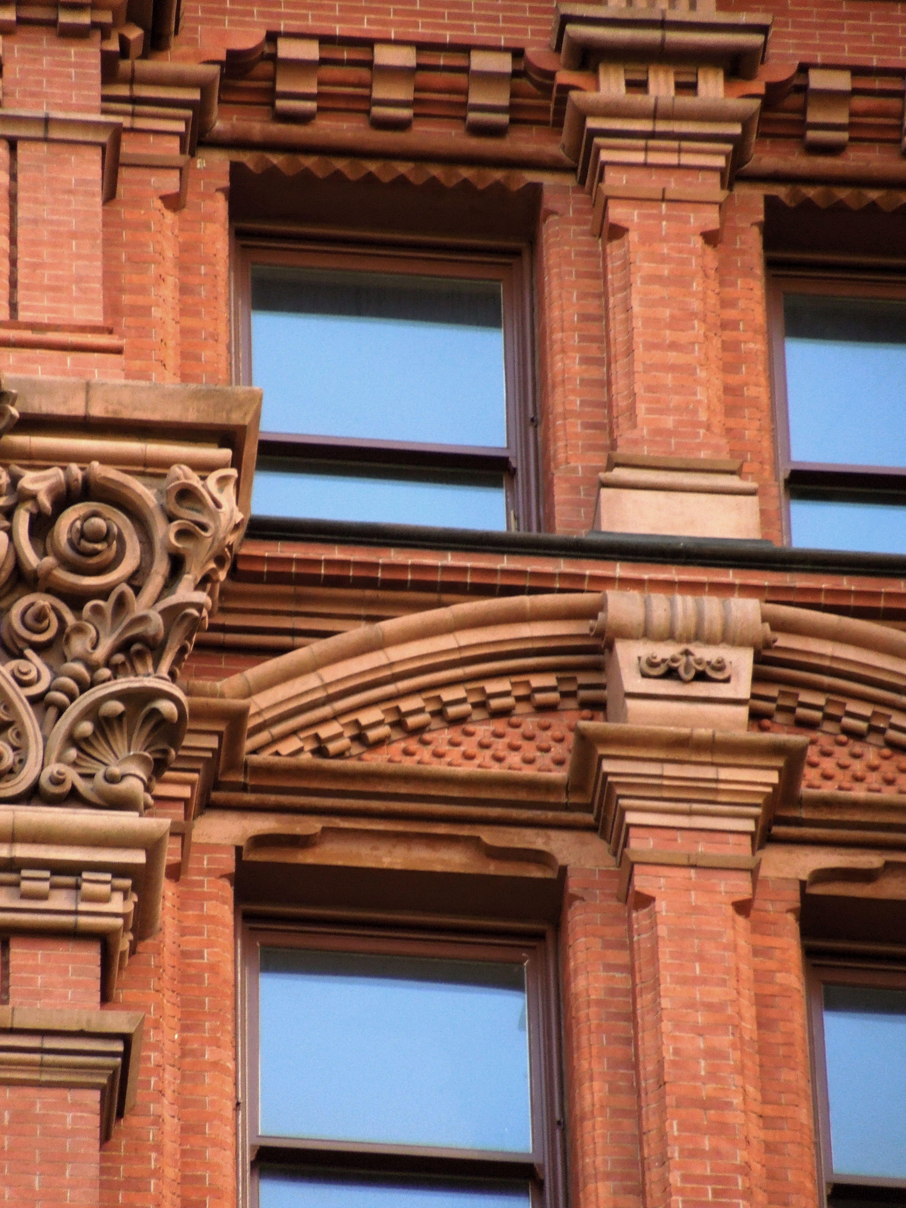 brickwork #bricklaying #masonry #intricate #angular #cornice ...