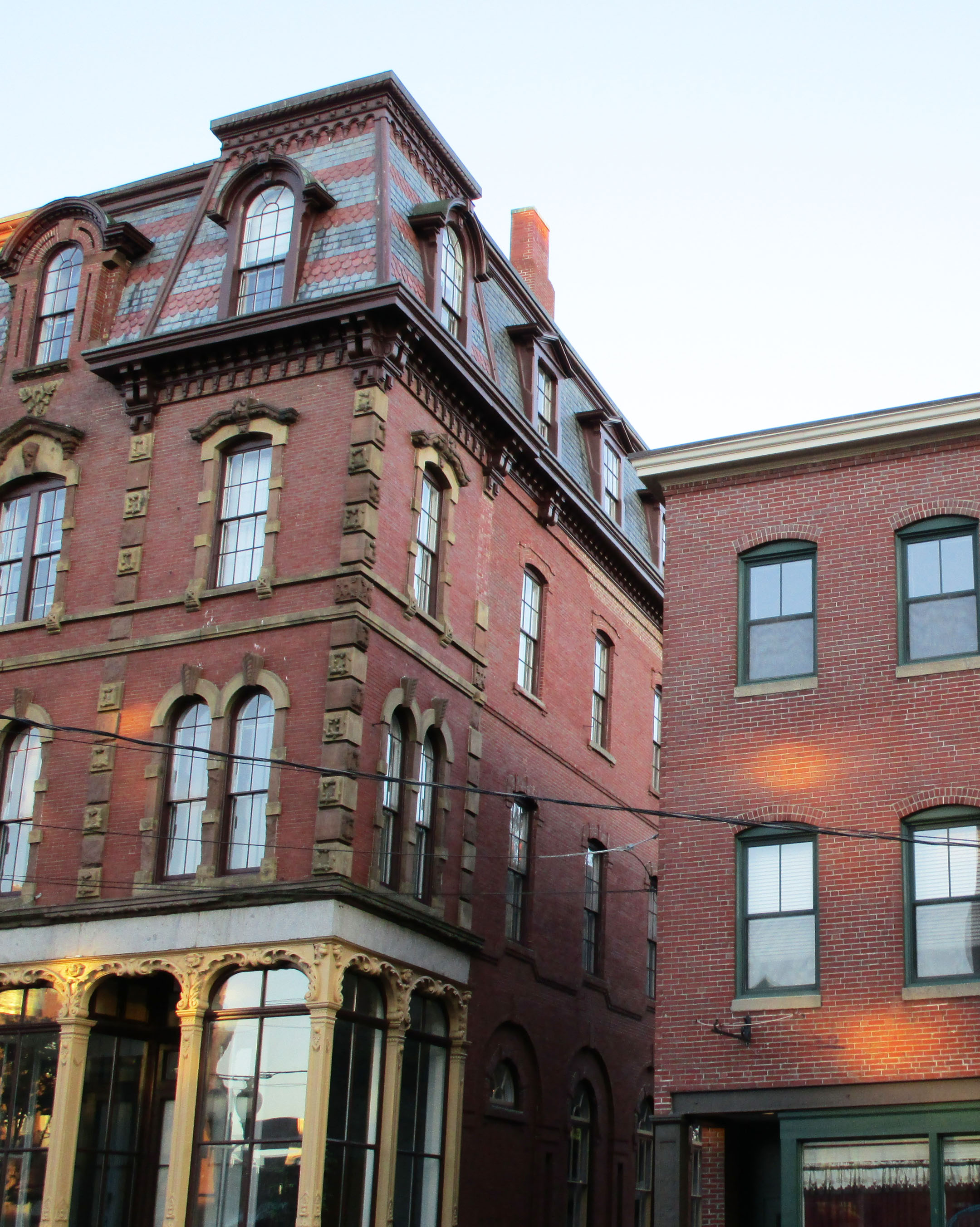 Brick Buildings Need Roof Overhangs | GreenBuildingAdvisor.com