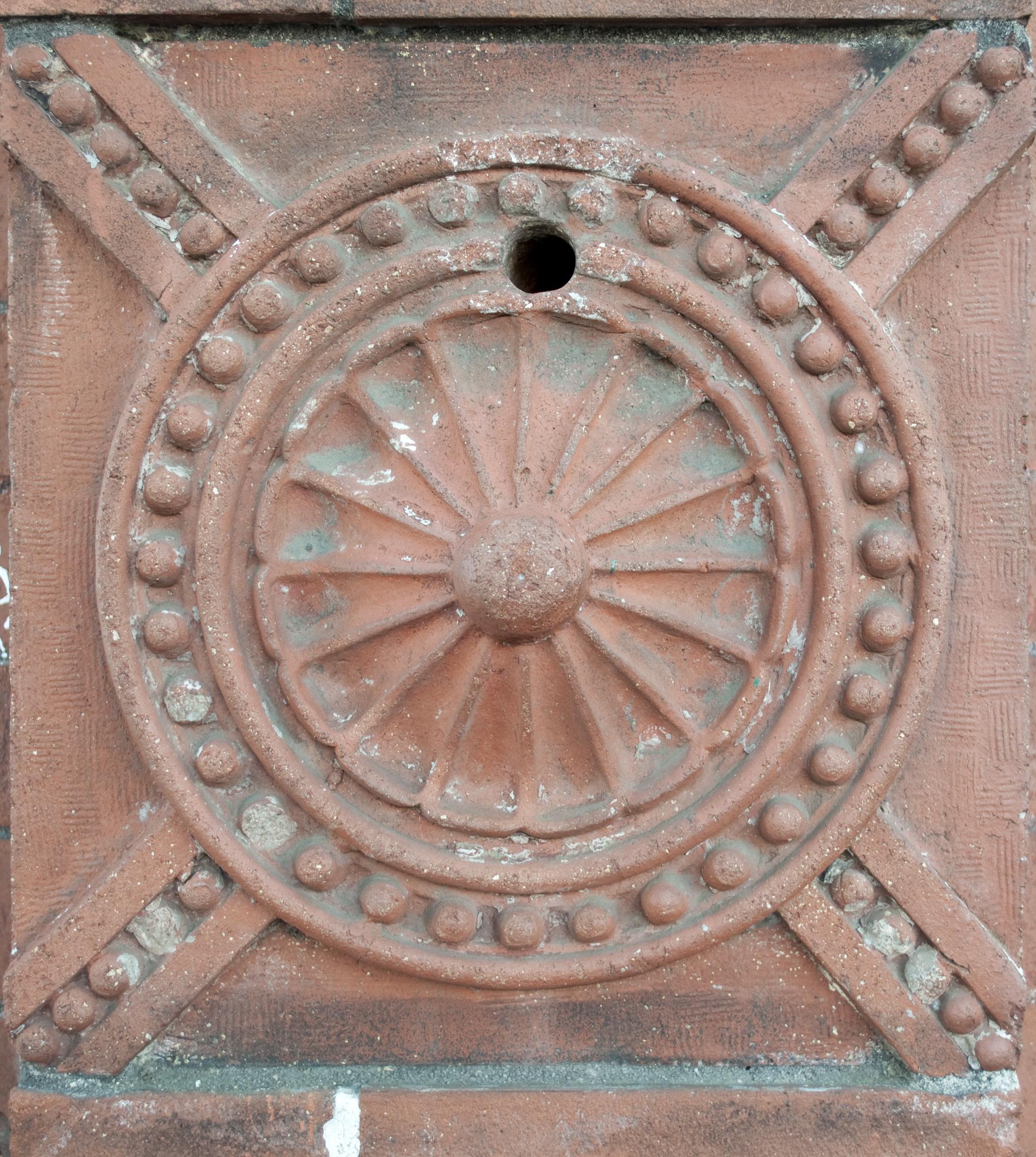 Ornate Brick, Architecture, Brick, Bricks, Cement, HQ Photo