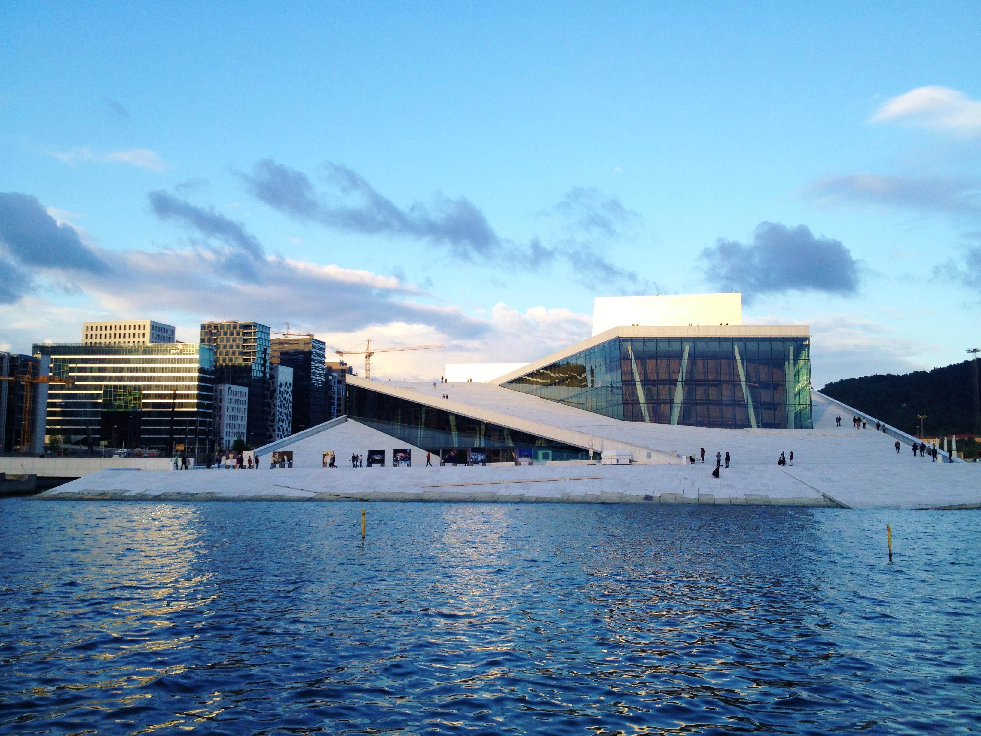 Oslo opera house photo