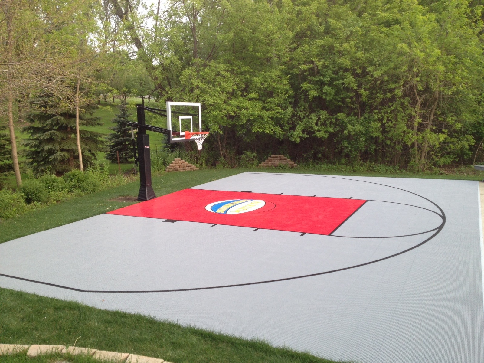 Outdoor Basketball Courts | Game Courts | Millz House | SnapSports MN