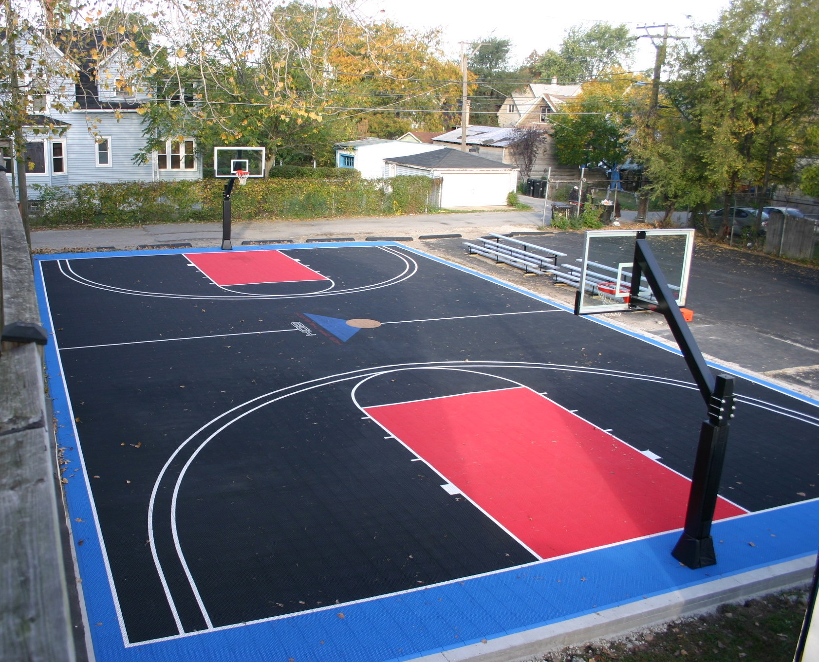 The Benefits of an Outdoor Basketball Court - Bough Nation