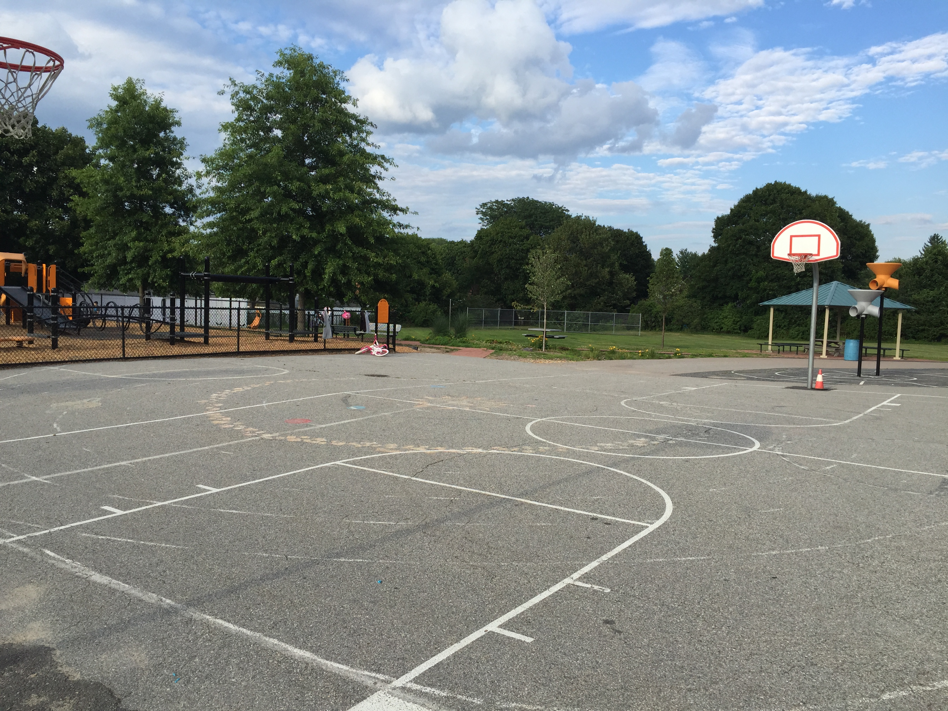 Natick Outdoor Courts - Natick Travel Basketball
