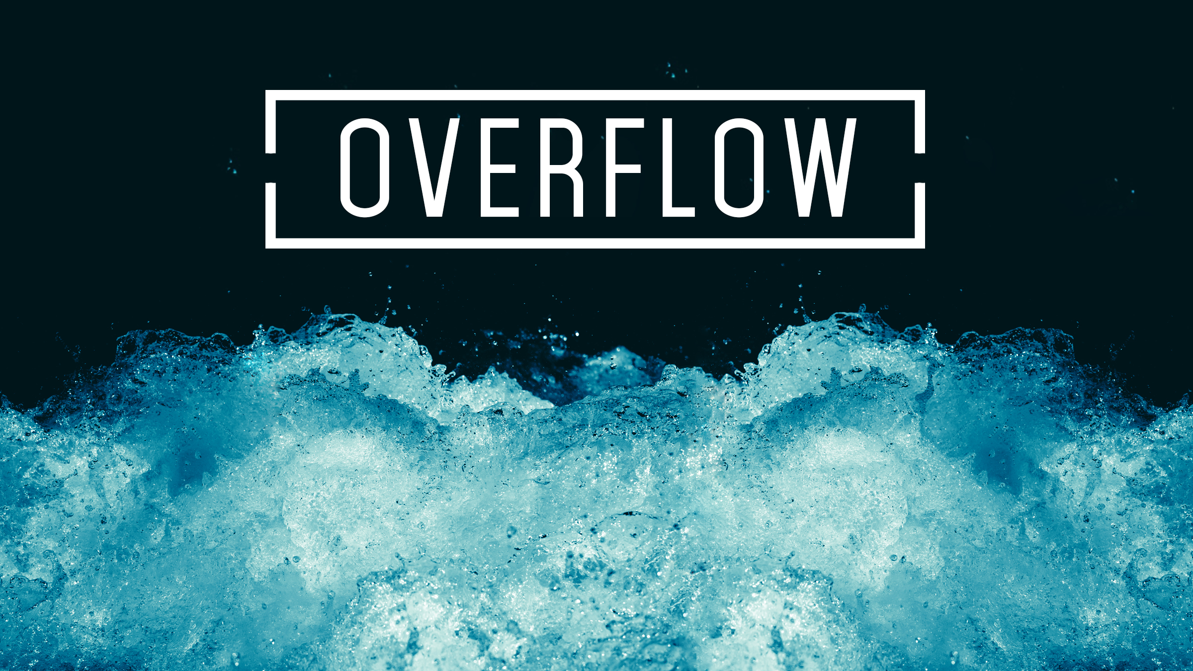 Overflow photo