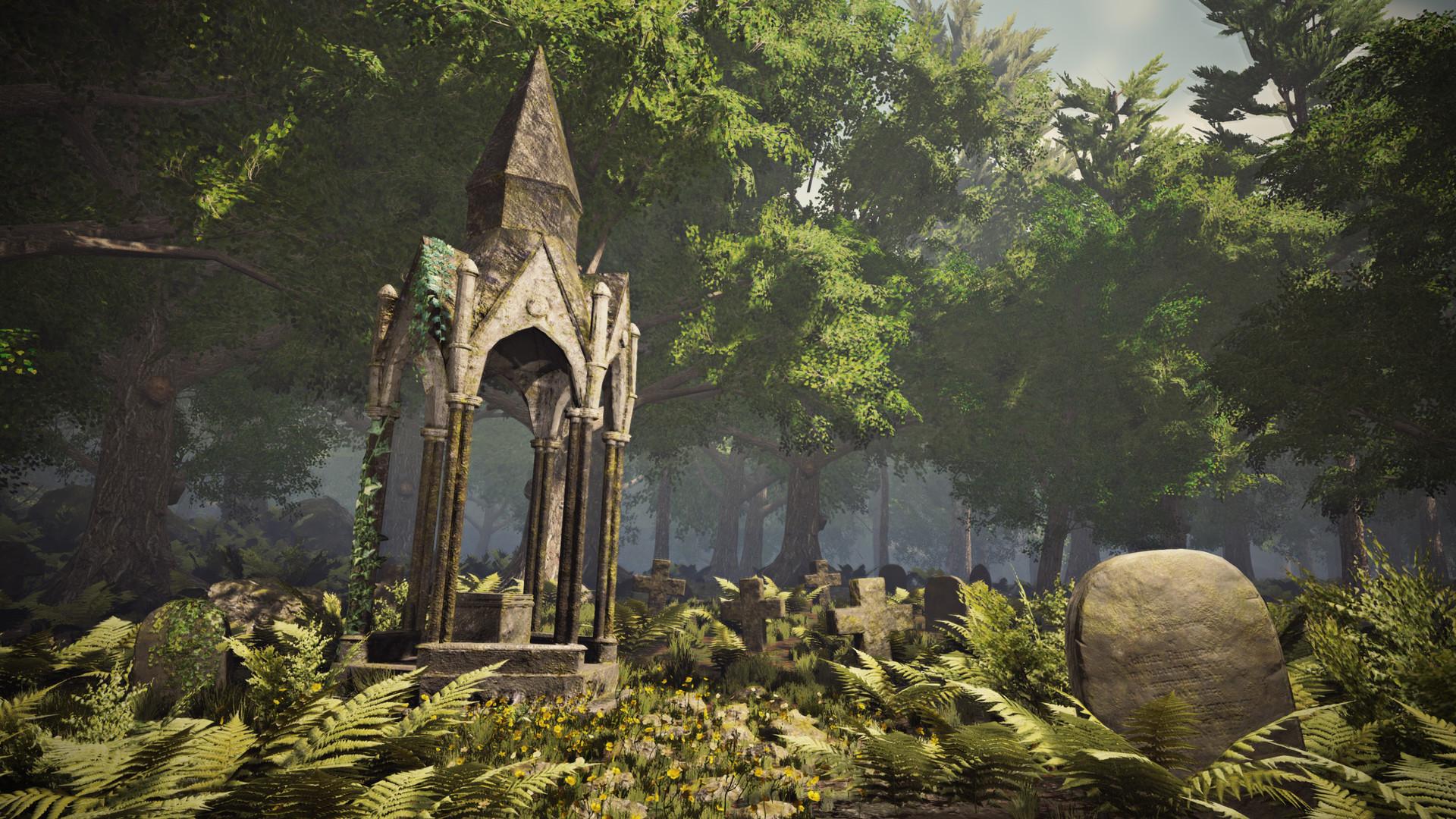 Anouk Debruyne - Overgrown Graveyard