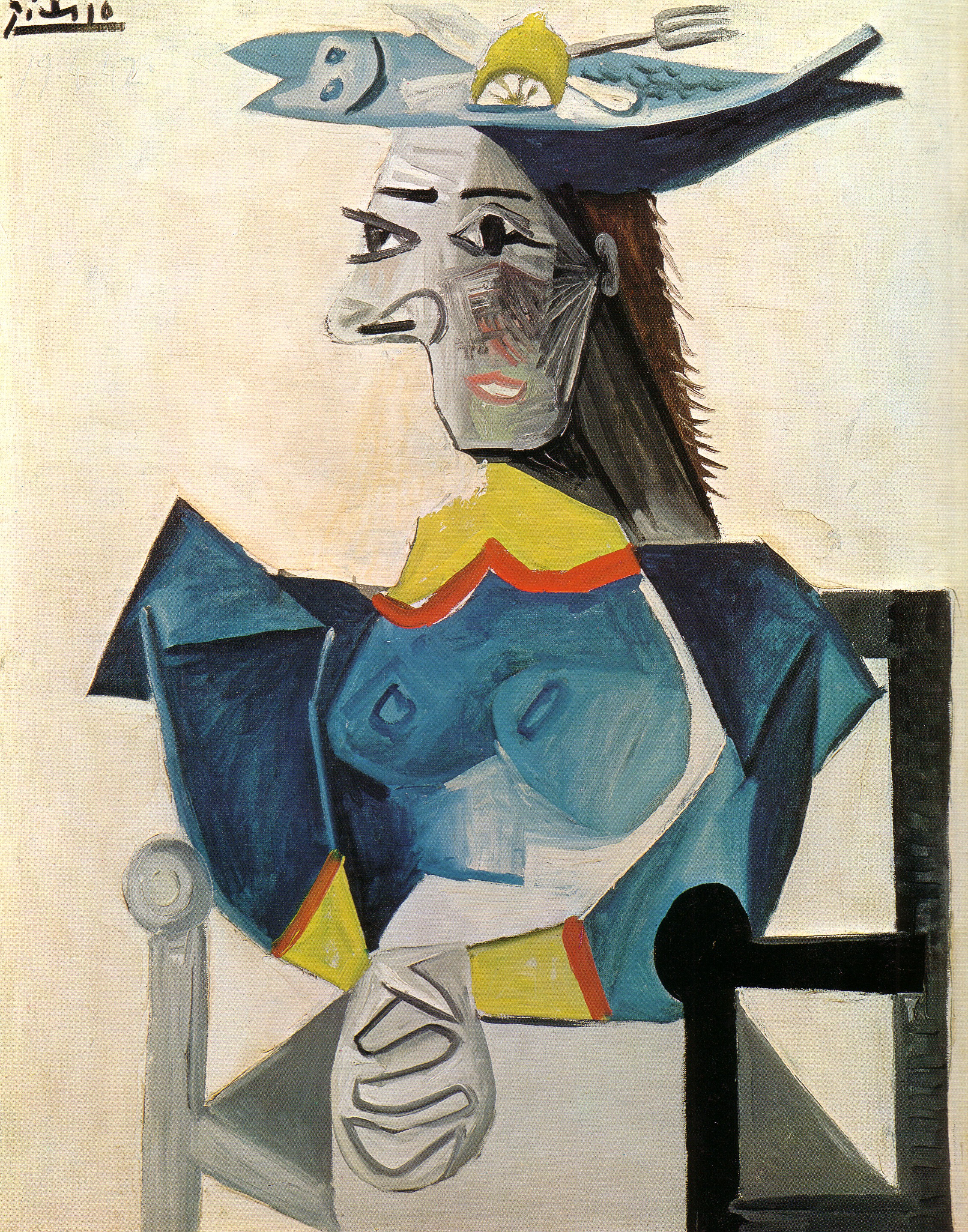 Pablo picasso painting photo