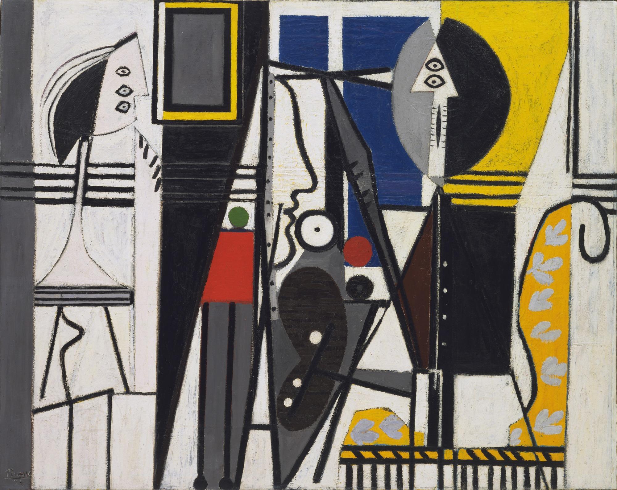 Pablo Picasso. Painter and Model. Paris, 1928   MoMA