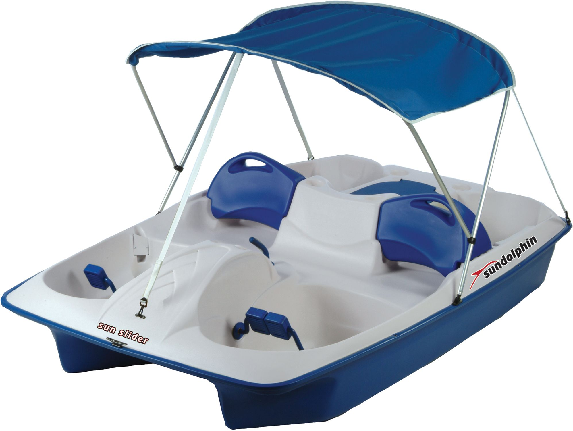 Sun Dolphin Sun Slider 5-Seated Pedal Boat with Canopy | DICK'S ...
