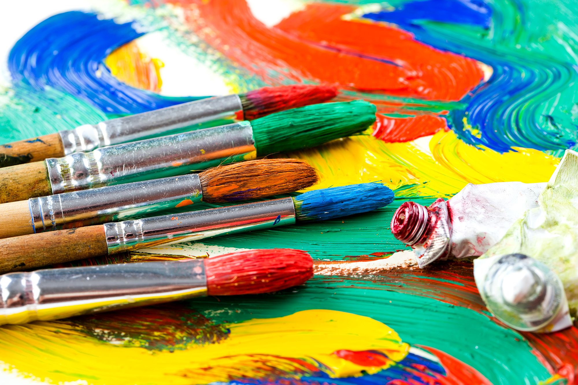 Paints and Brushes | HD Free Foto
