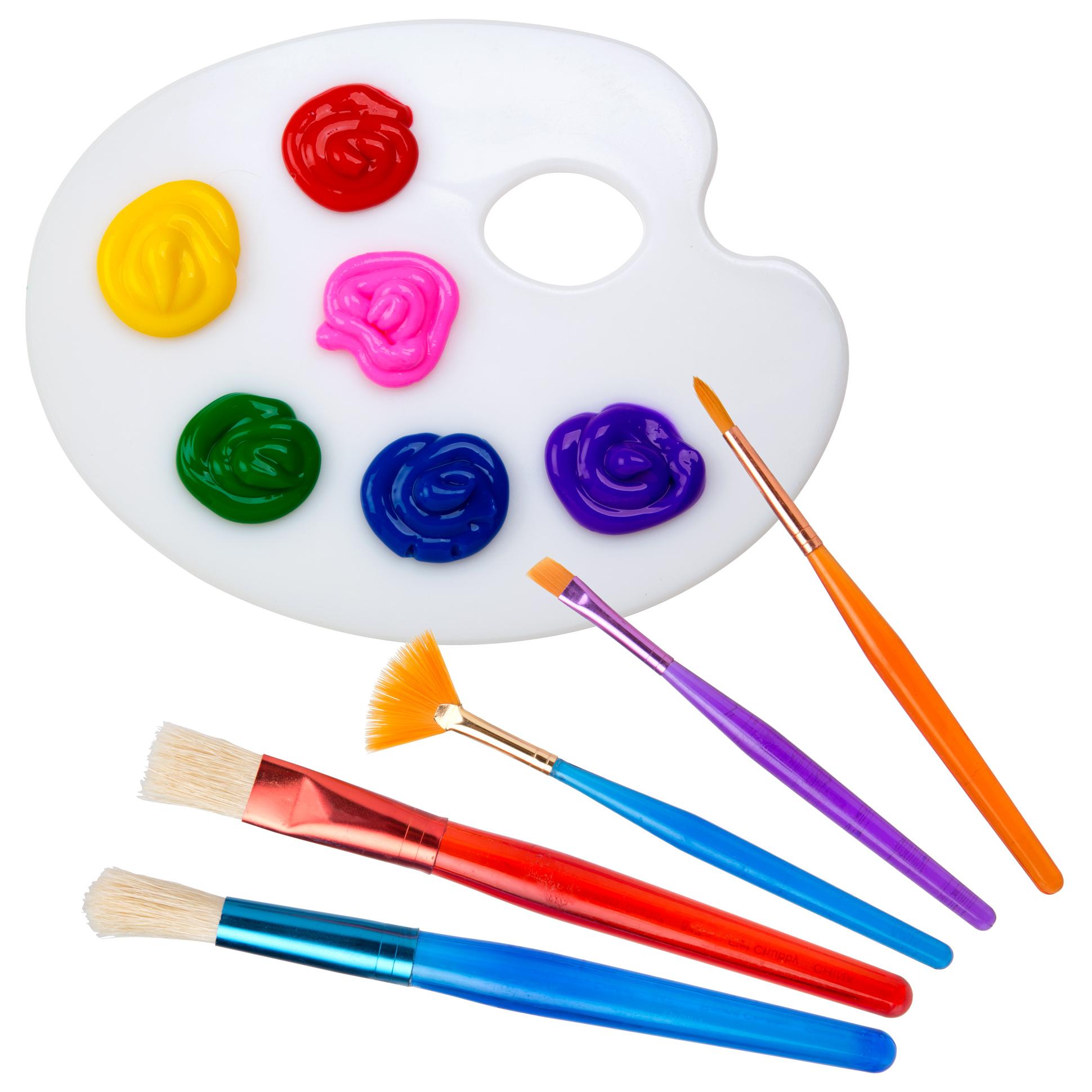 ALEX Toys Artist Studio Paint Brush and Palette Set - AlexBrands.com