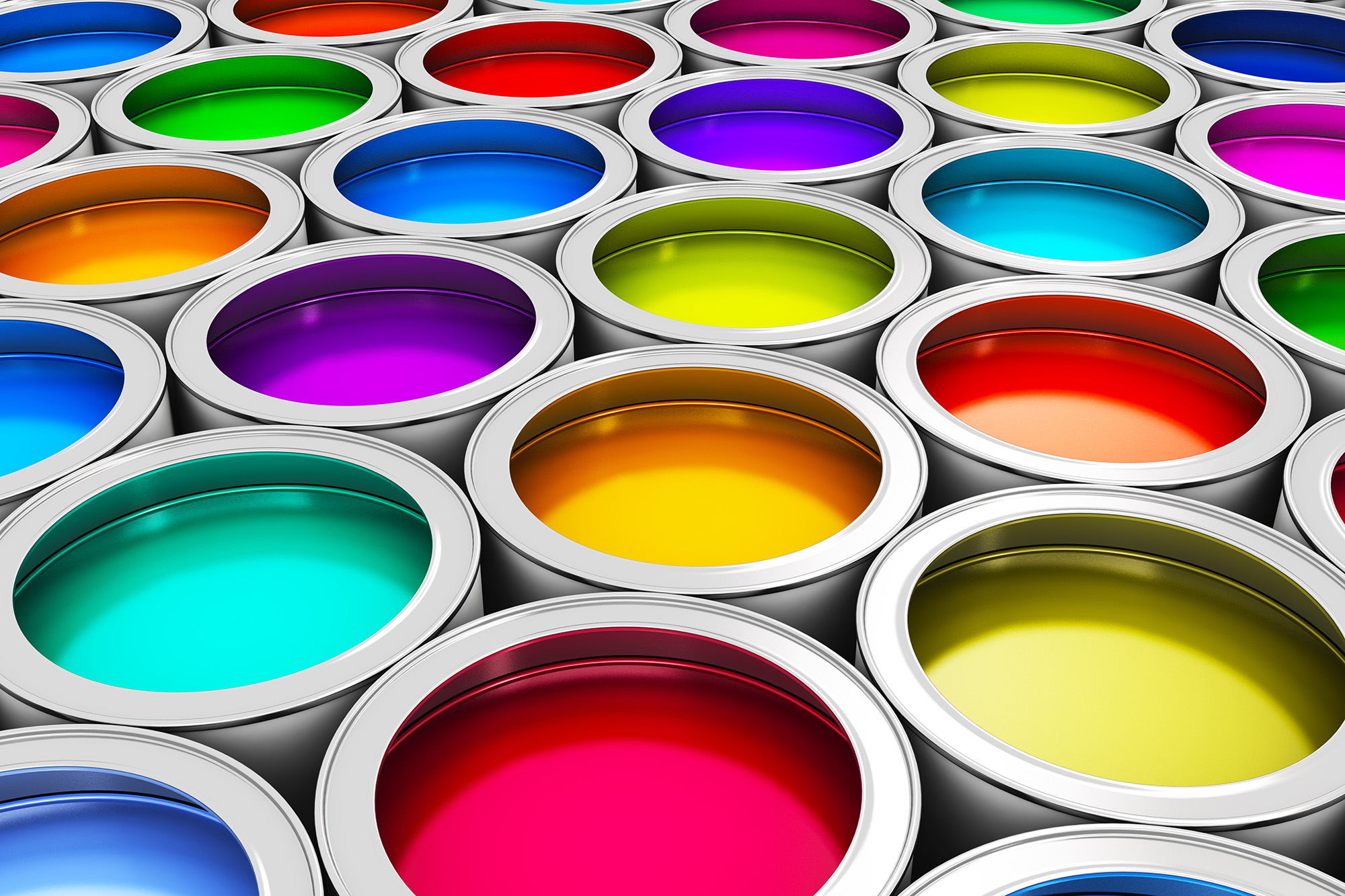 Color Paint Cans | HD Free Foto
