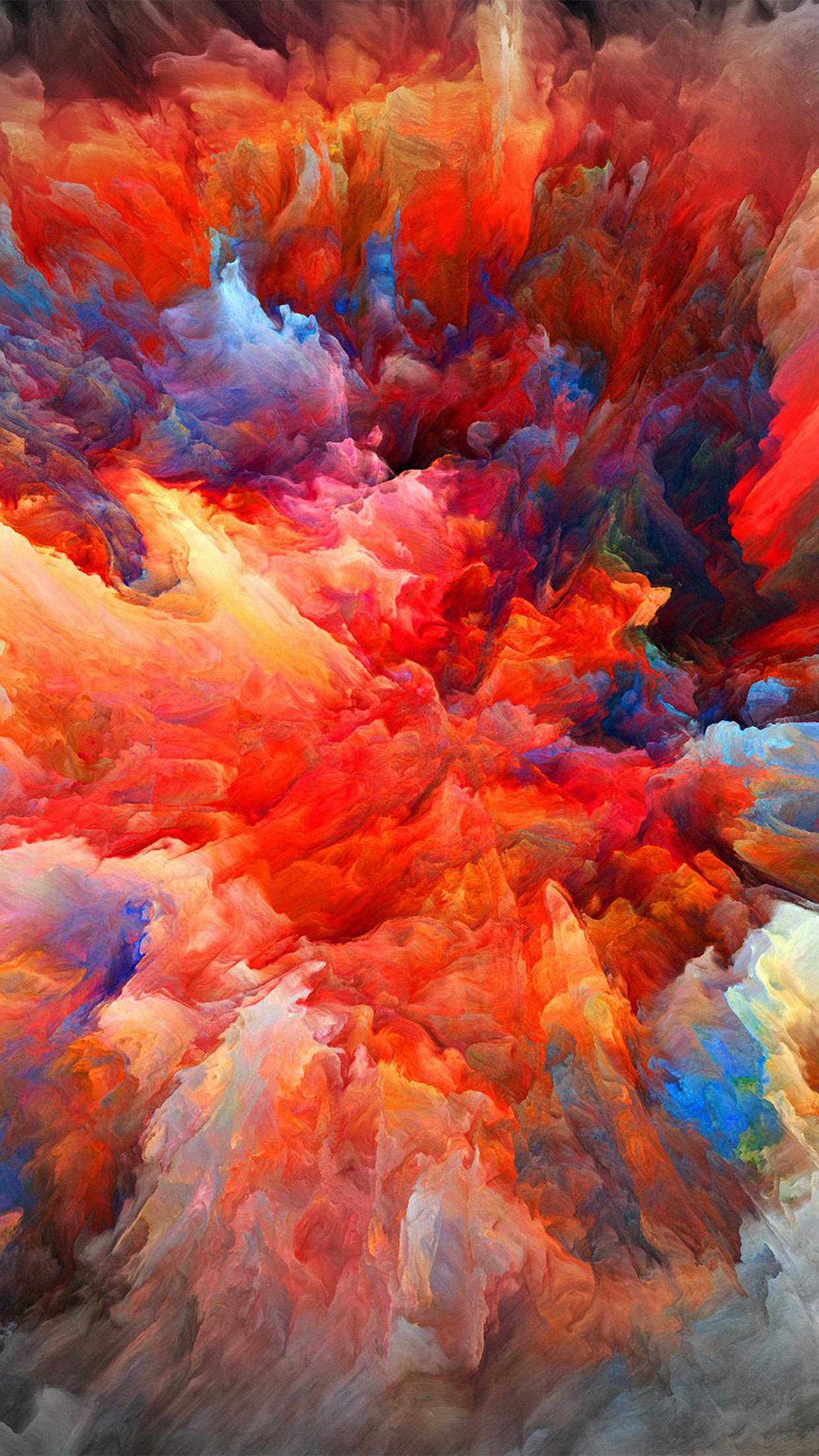 free photo paint color explosion explosion effect creative