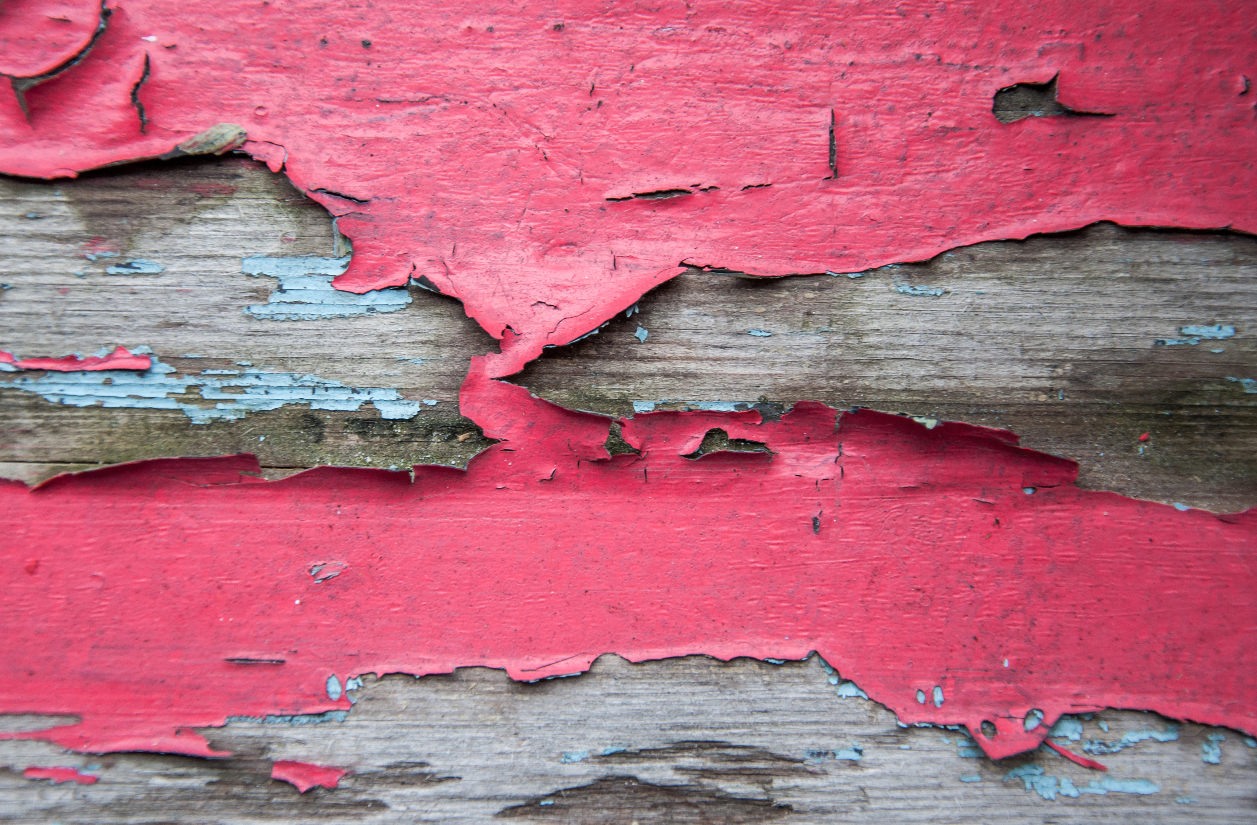 Paint Peel wood texture, Abstract, Red, Paint, Peel, HQ Photo