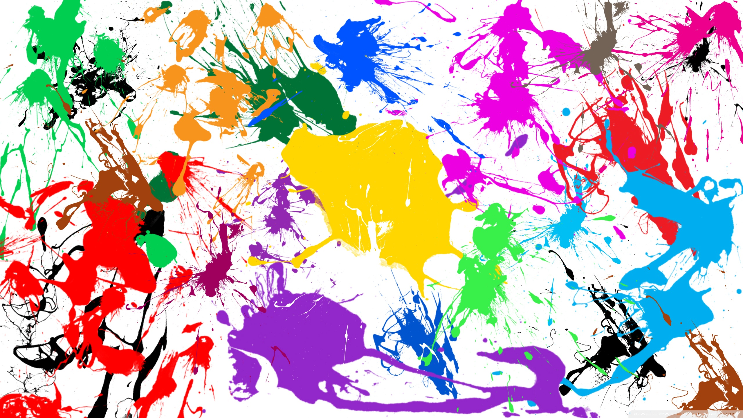 Paint Splatter ❤ 4K HD Desktop Wallpaper for • Wide & Ultra ...