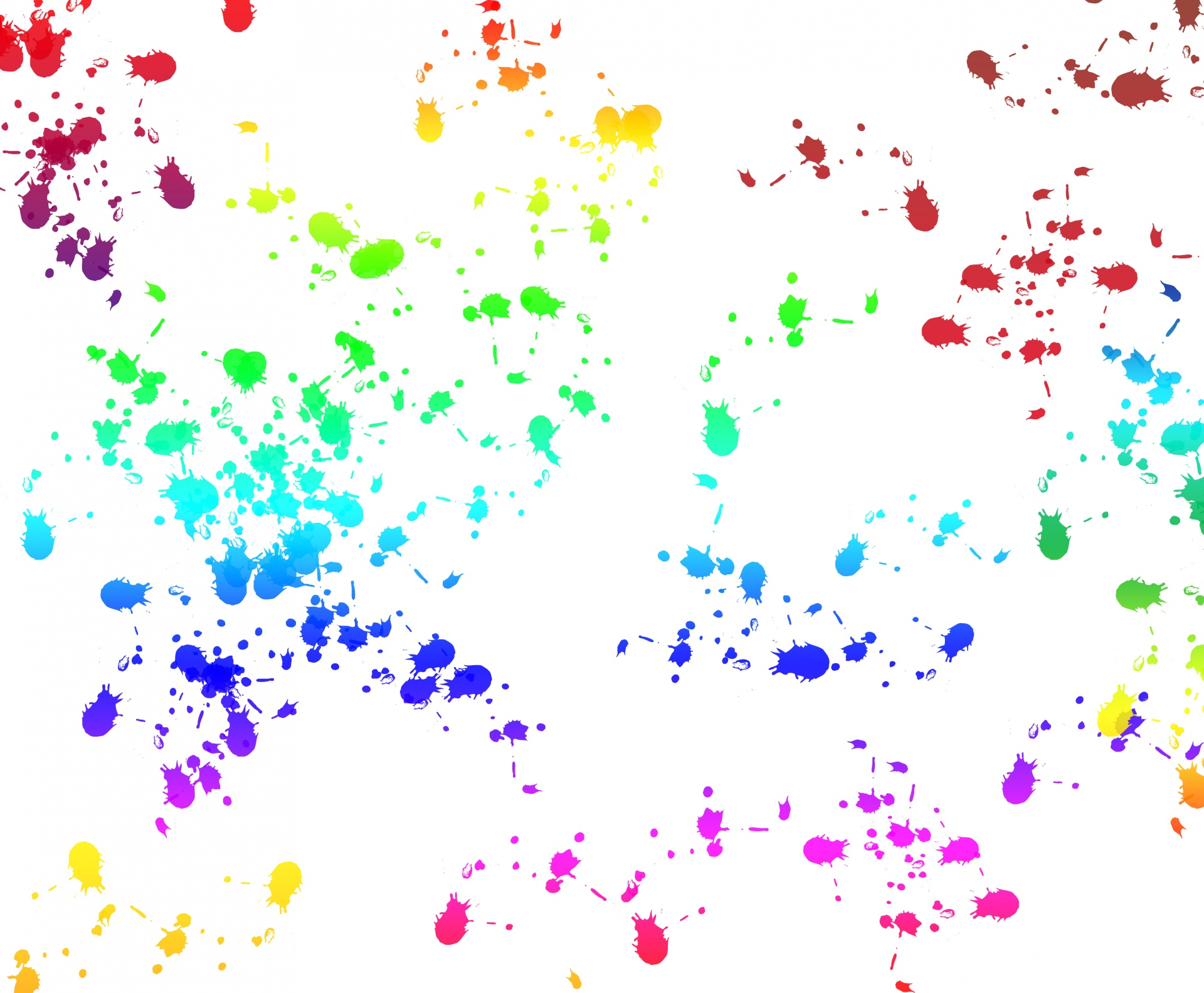 Paint splatter background photo