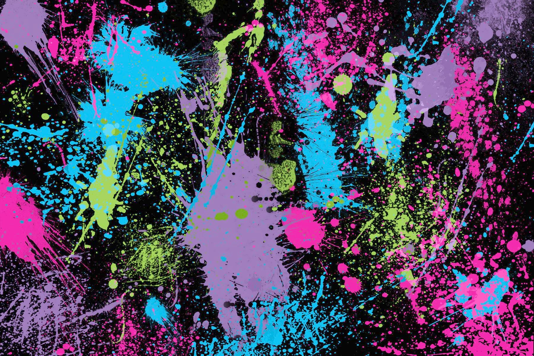 Paint splatter photo