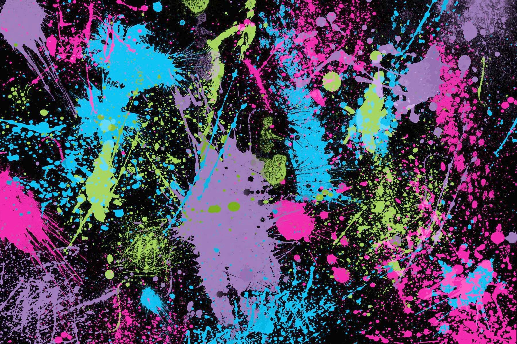 Splatter Paint Background | Home Design