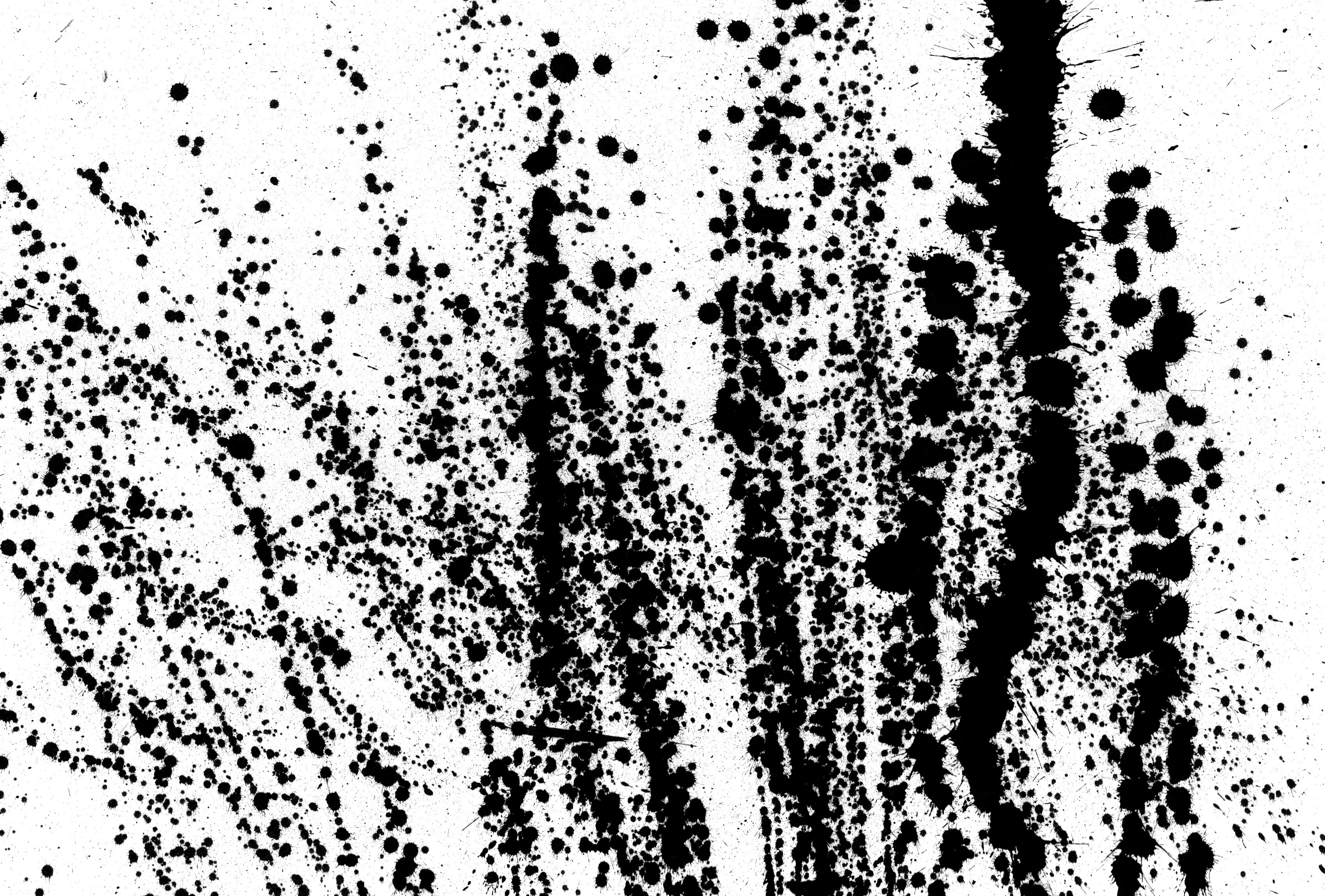 Oil Paint Splatter
