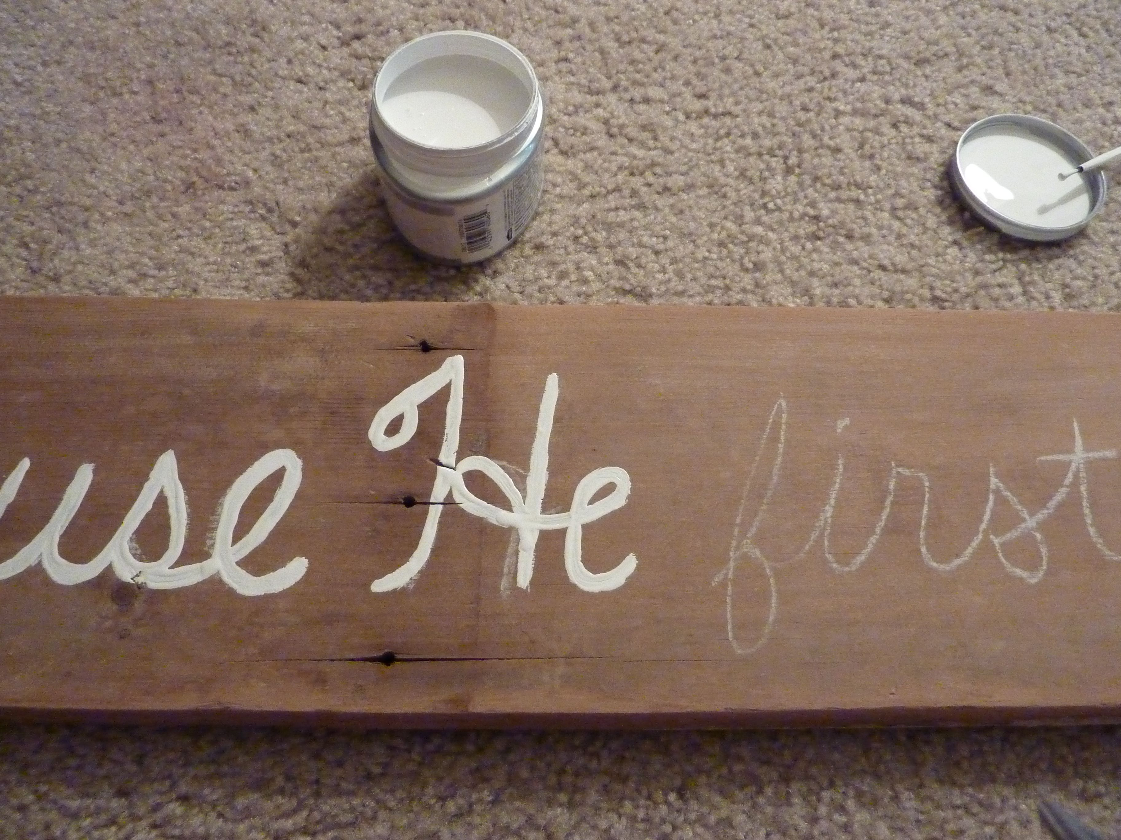 painting a sign onto barn wood | Rustic Decor | Pinterest | Barn ...