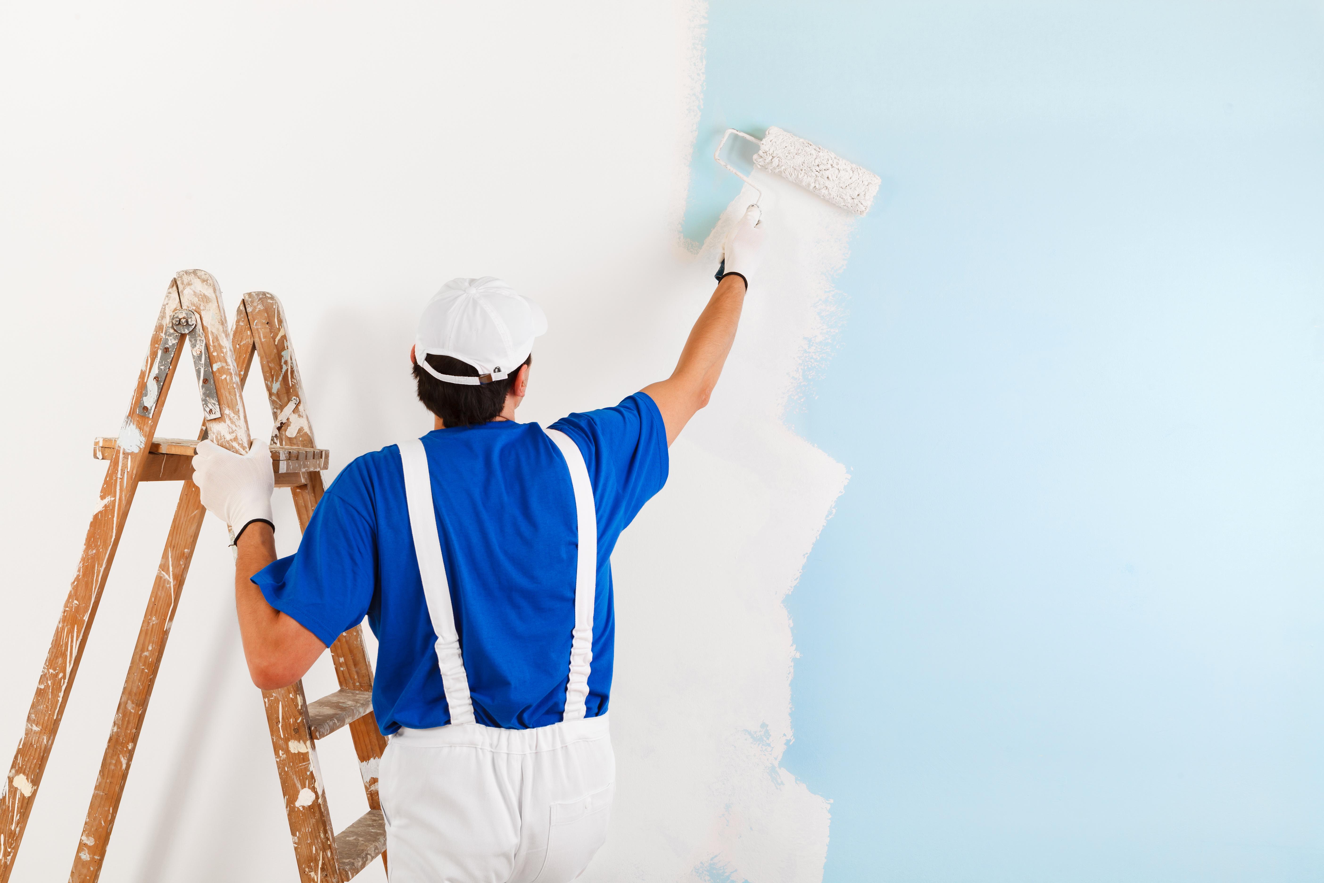 Free Photo Painter Passion Work Painting Free