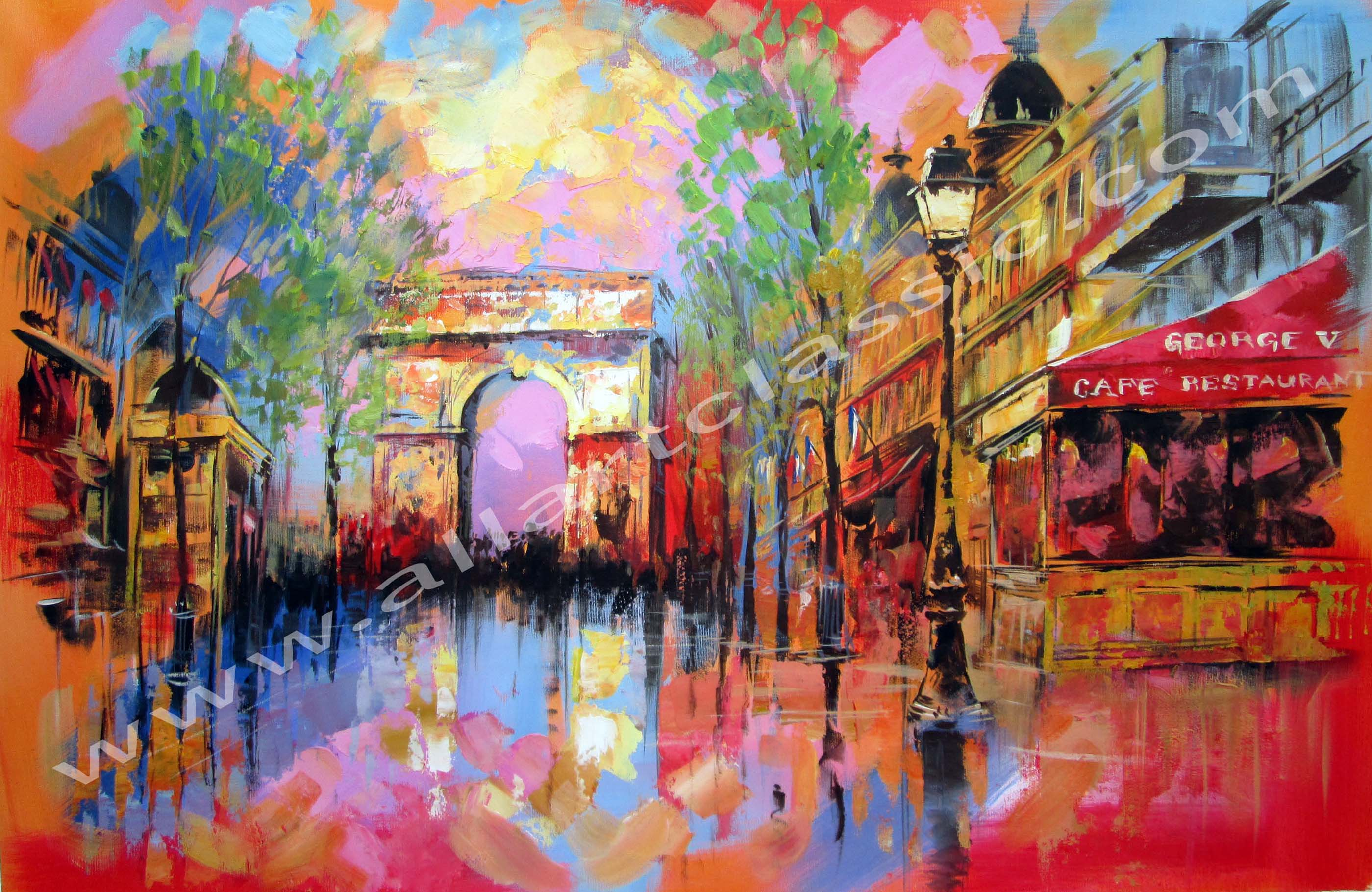 Art Reproductions and Original oil Paintings Landscapes ...