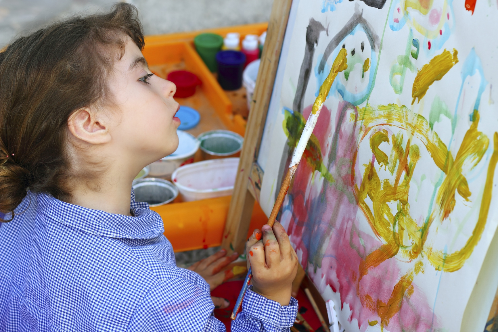 Painting for kids: Make it exciting and educational