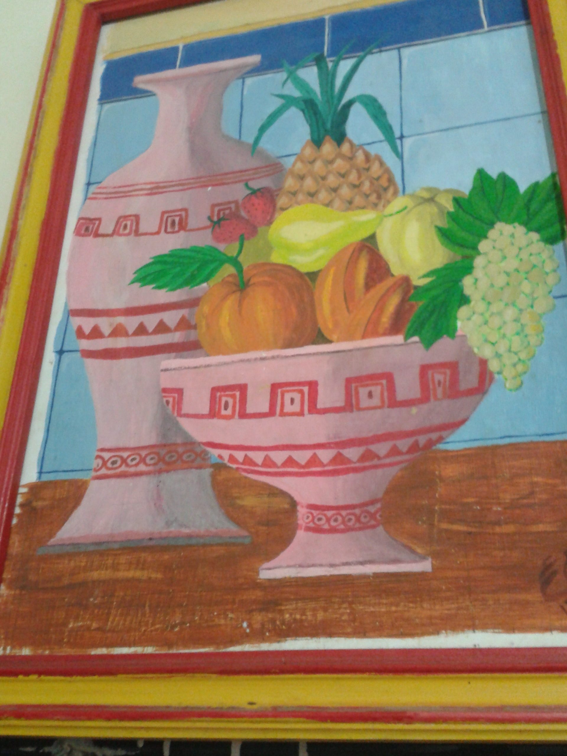 Painting for kitchen photo