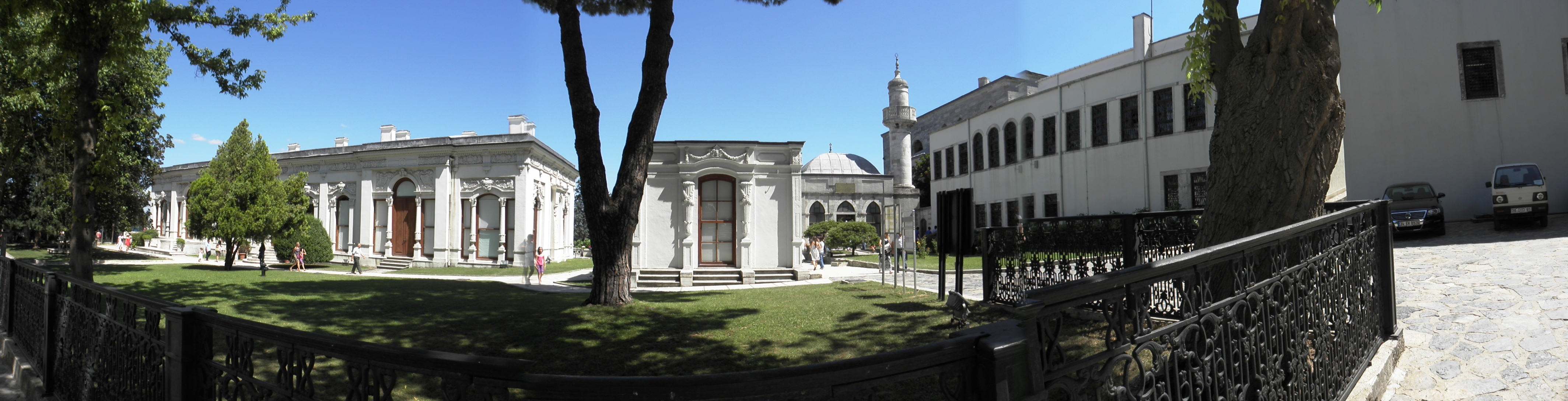 Palace of the sultan of the ottoman empi photo