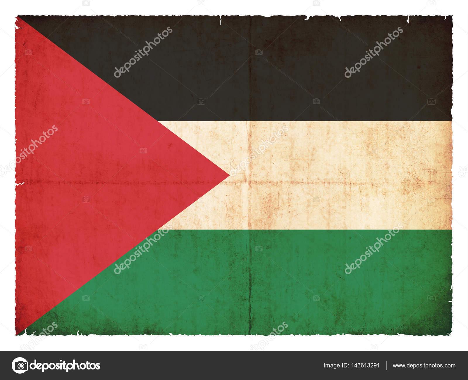 Grunge flag of Palestine — Stock Photo © cmfotoworks #143613291