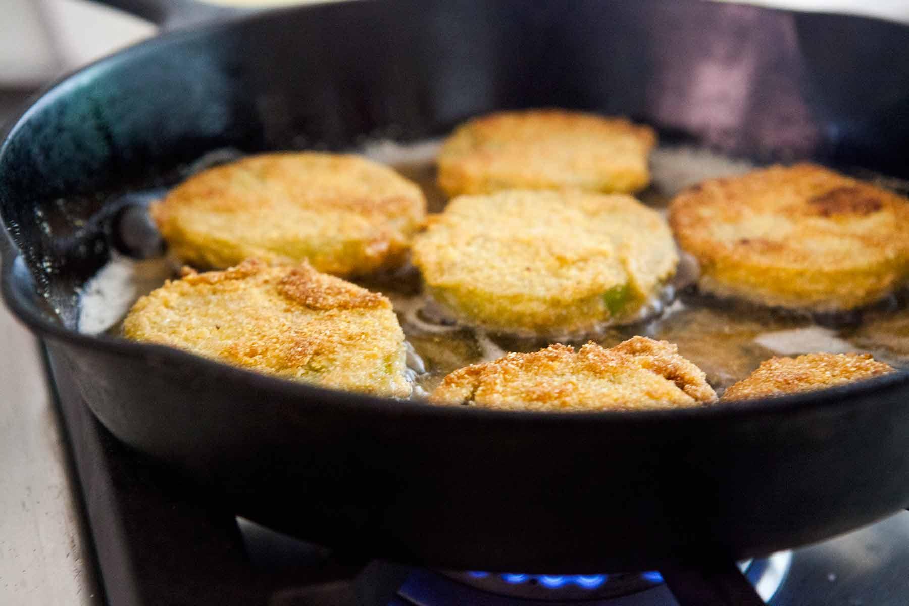 Fried Green Tomatoes Recipe   SimplyRecipes.com