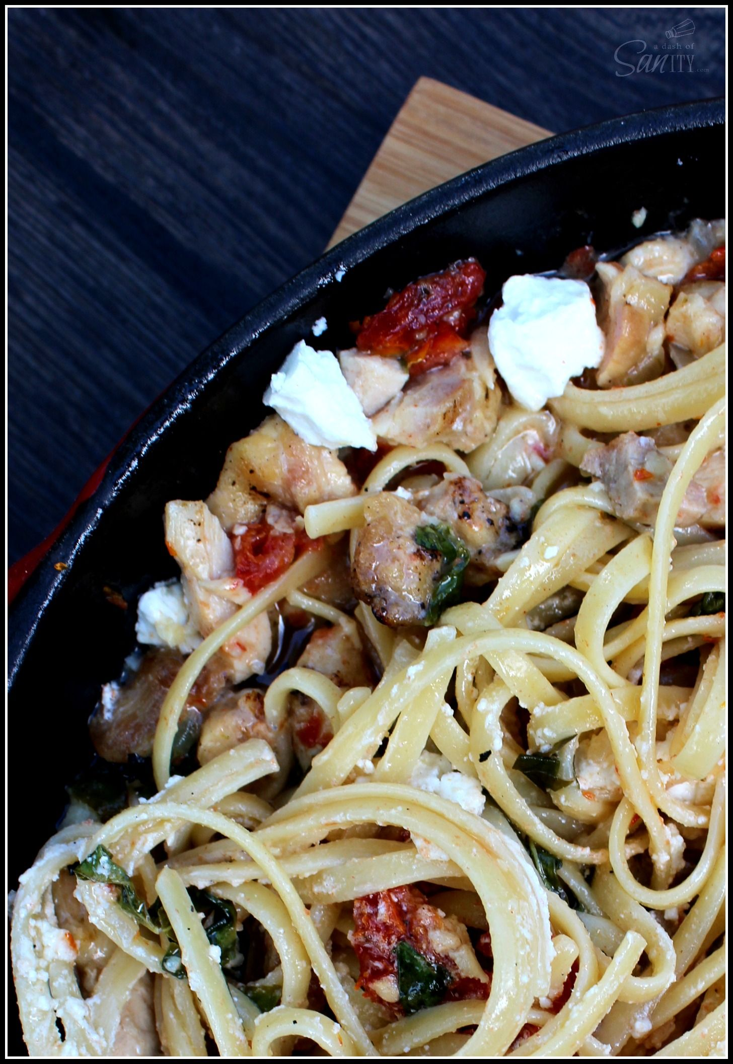 Chicken Bryan Pasta Skillet | Recipe | Chicken bryan, Frying pan and ...