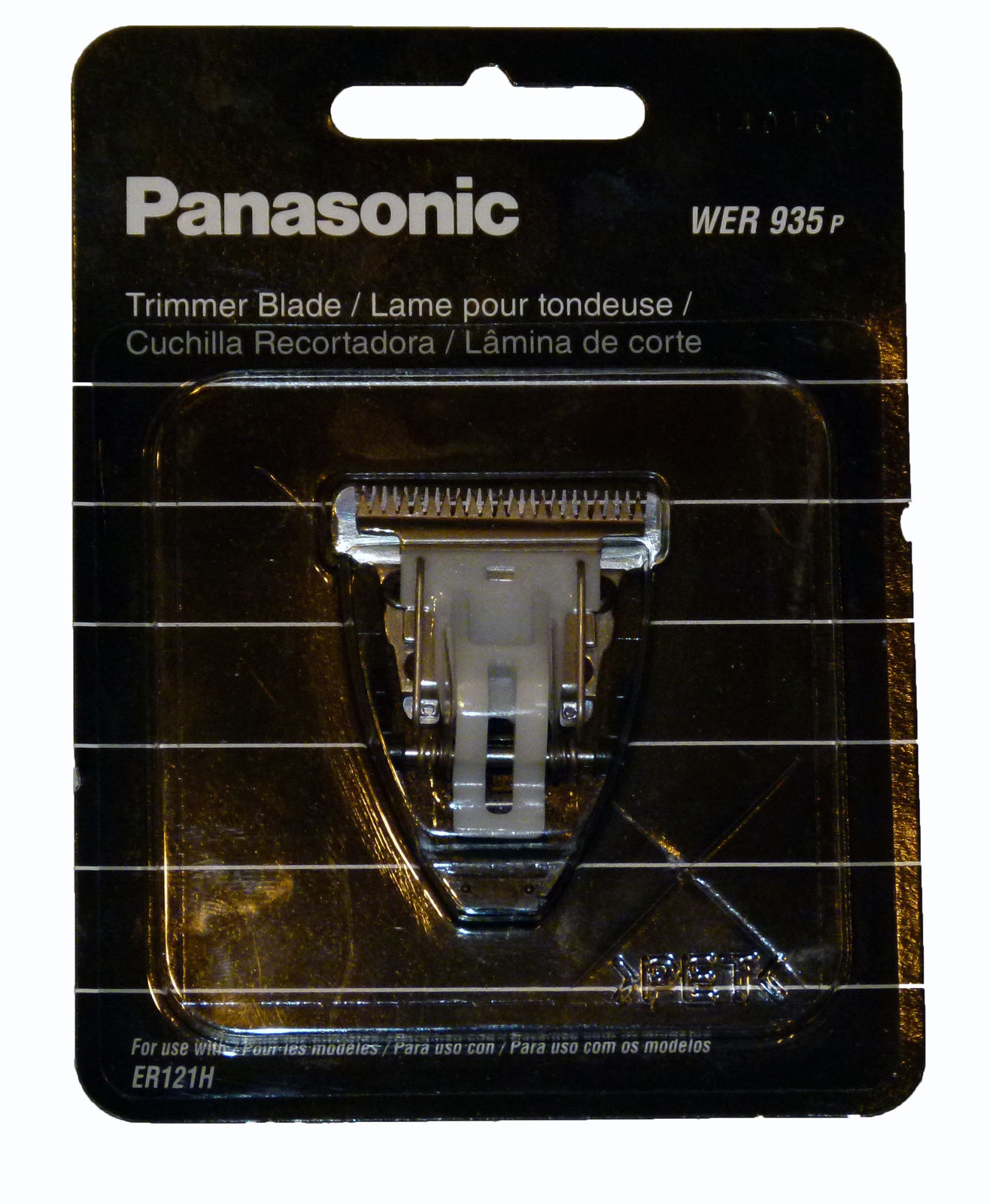 Panasonic Replacement Trimmer Blade - Er121 Professional Hair ...