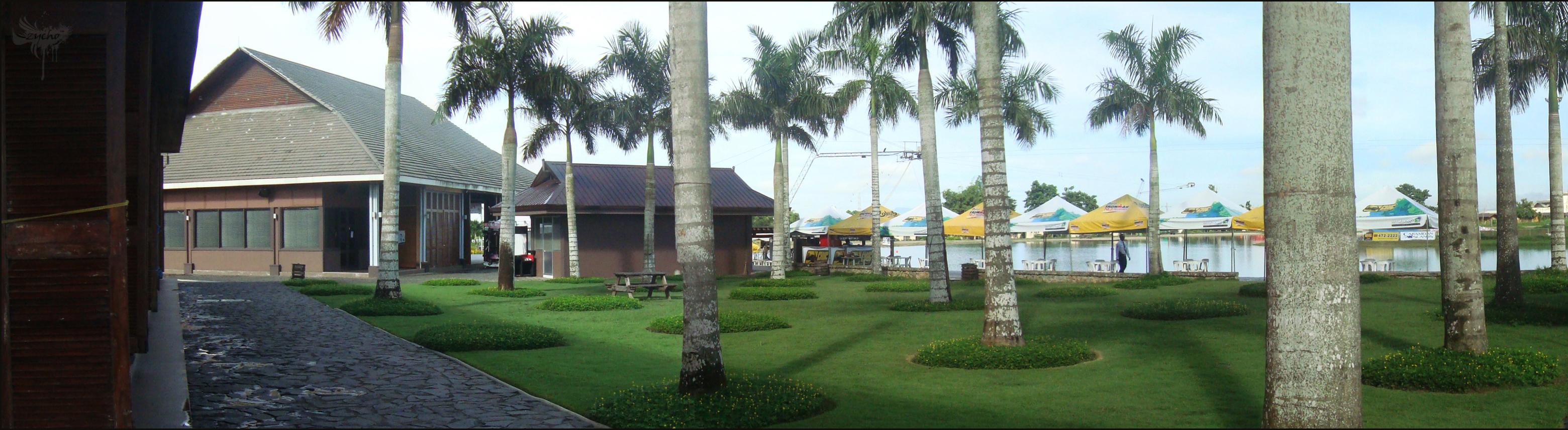 Panorama landscape photo
