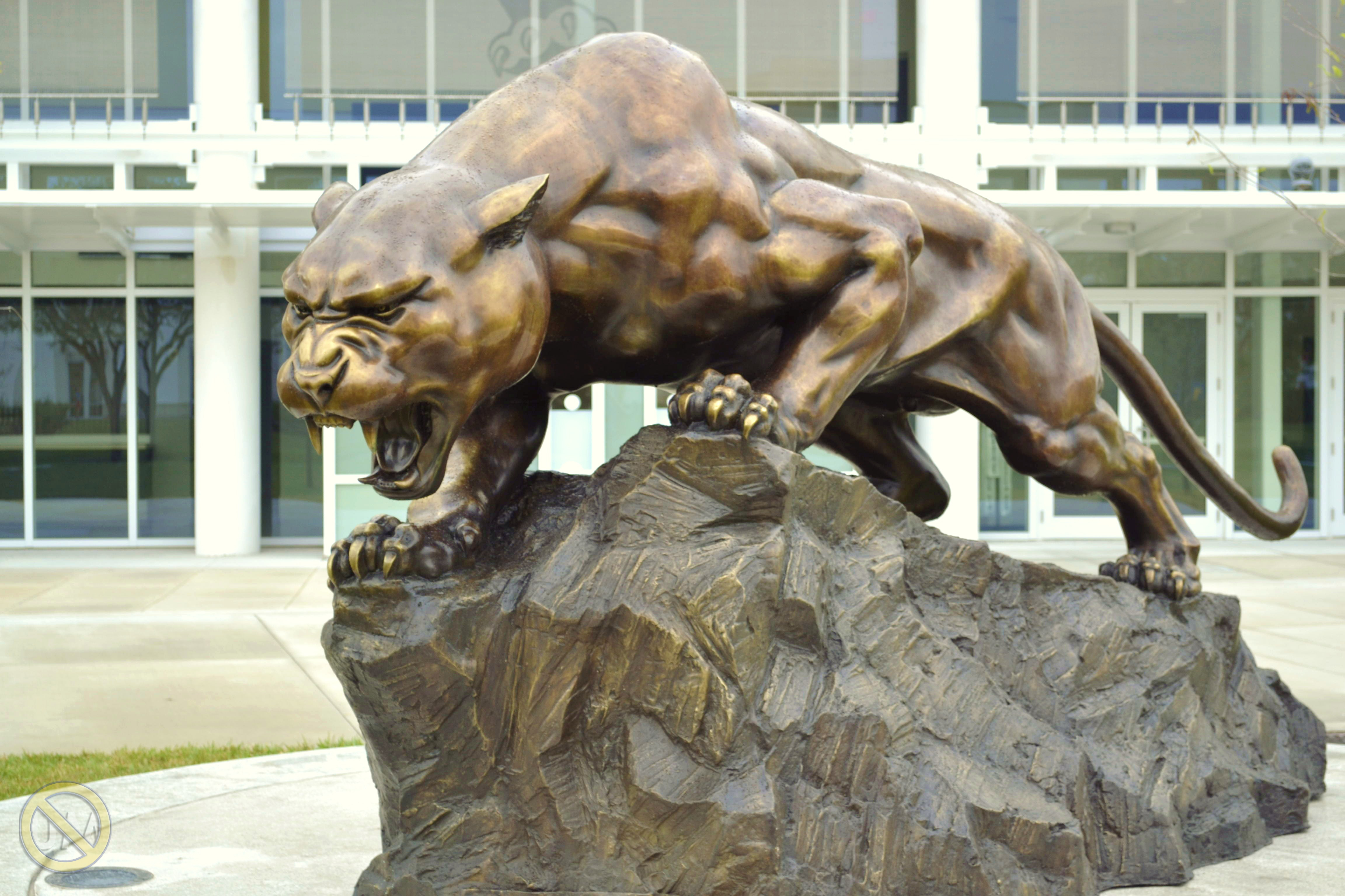 Panther Statue 8 | This Is NOT UM