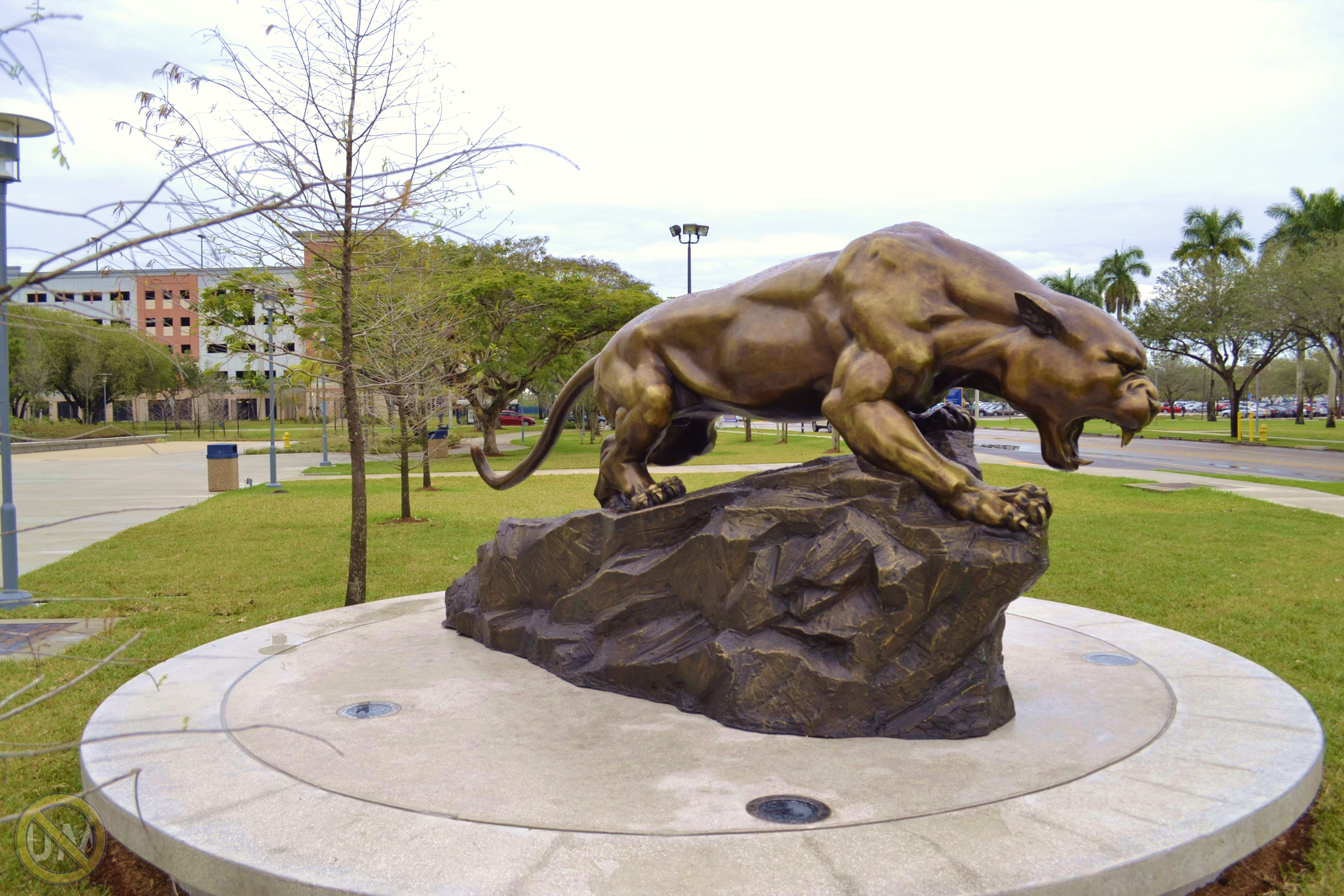 Panther Statue 4 | This Is NOT UM