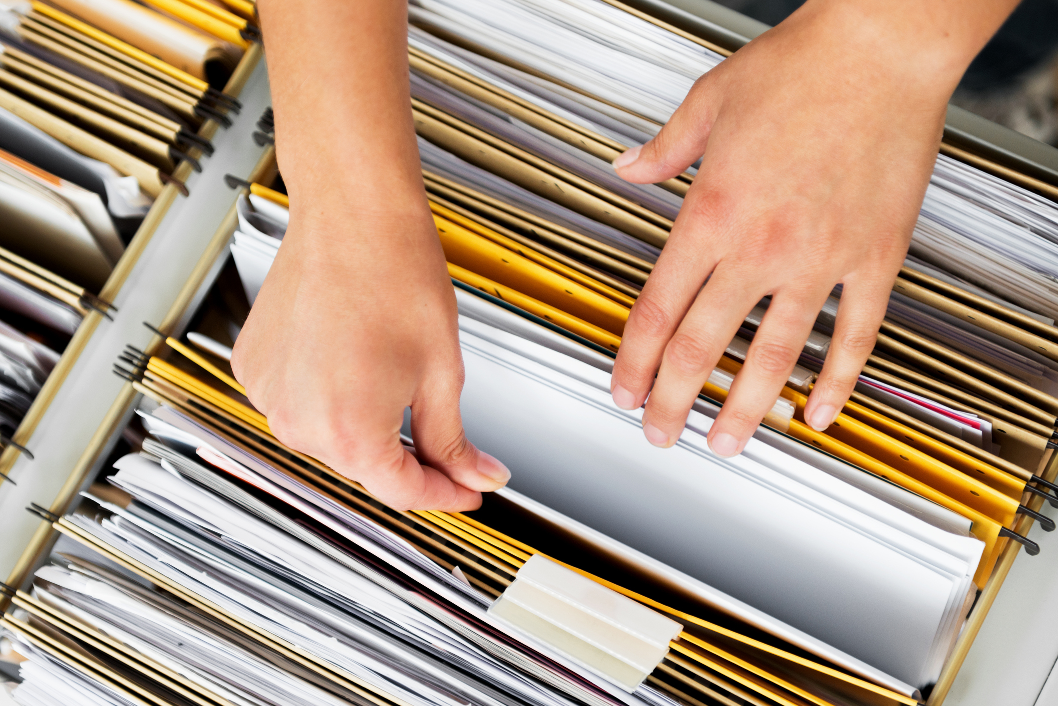 Tips for Organizing Paperwork - Complete Shredding Solutions