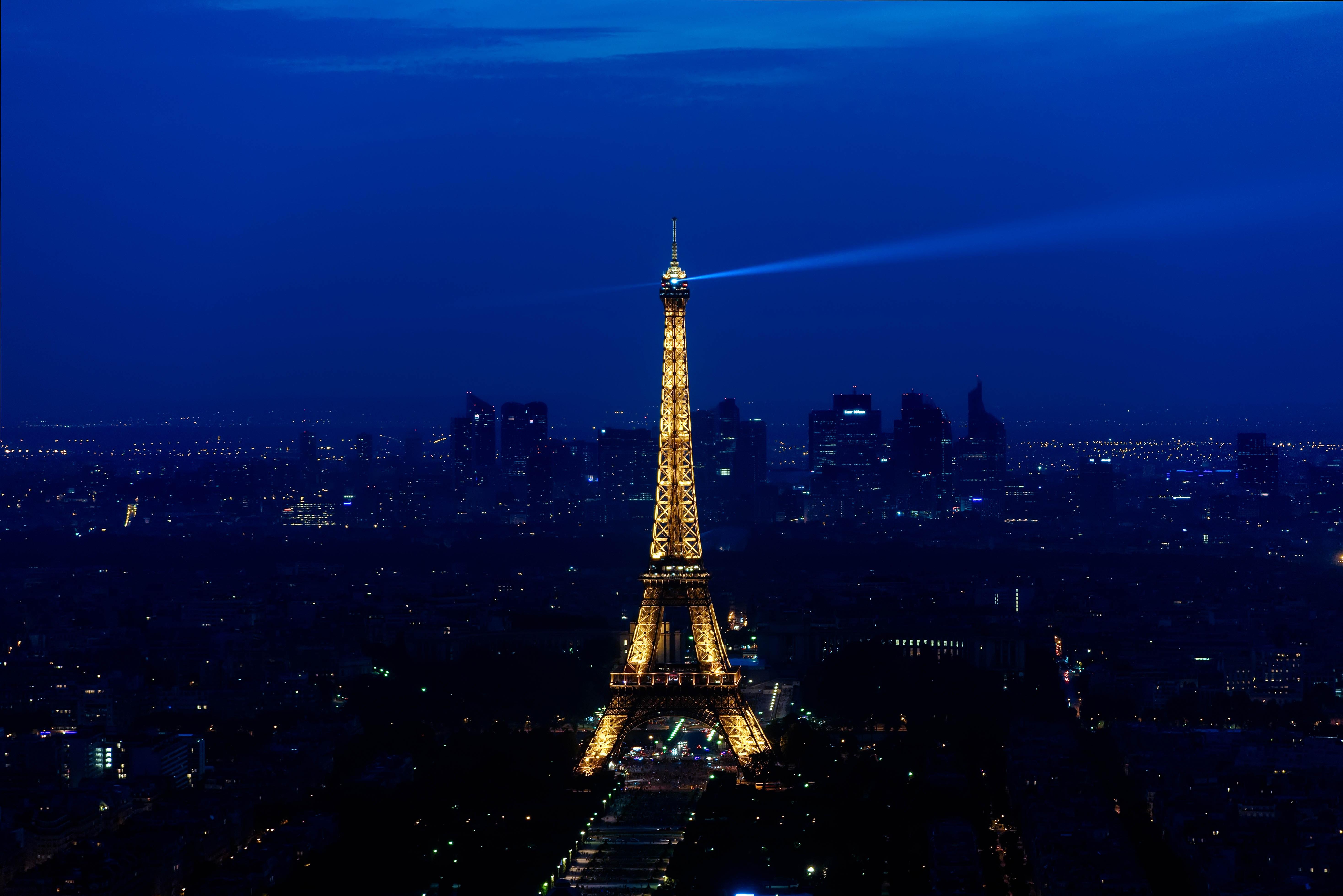 Paris Eiffel Tower, Architecture, Landmark, Travel, Tower, HQ Photo