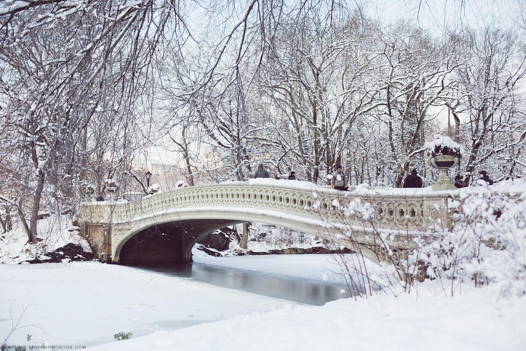 Winter Fairy Tale — Paris in Four Months