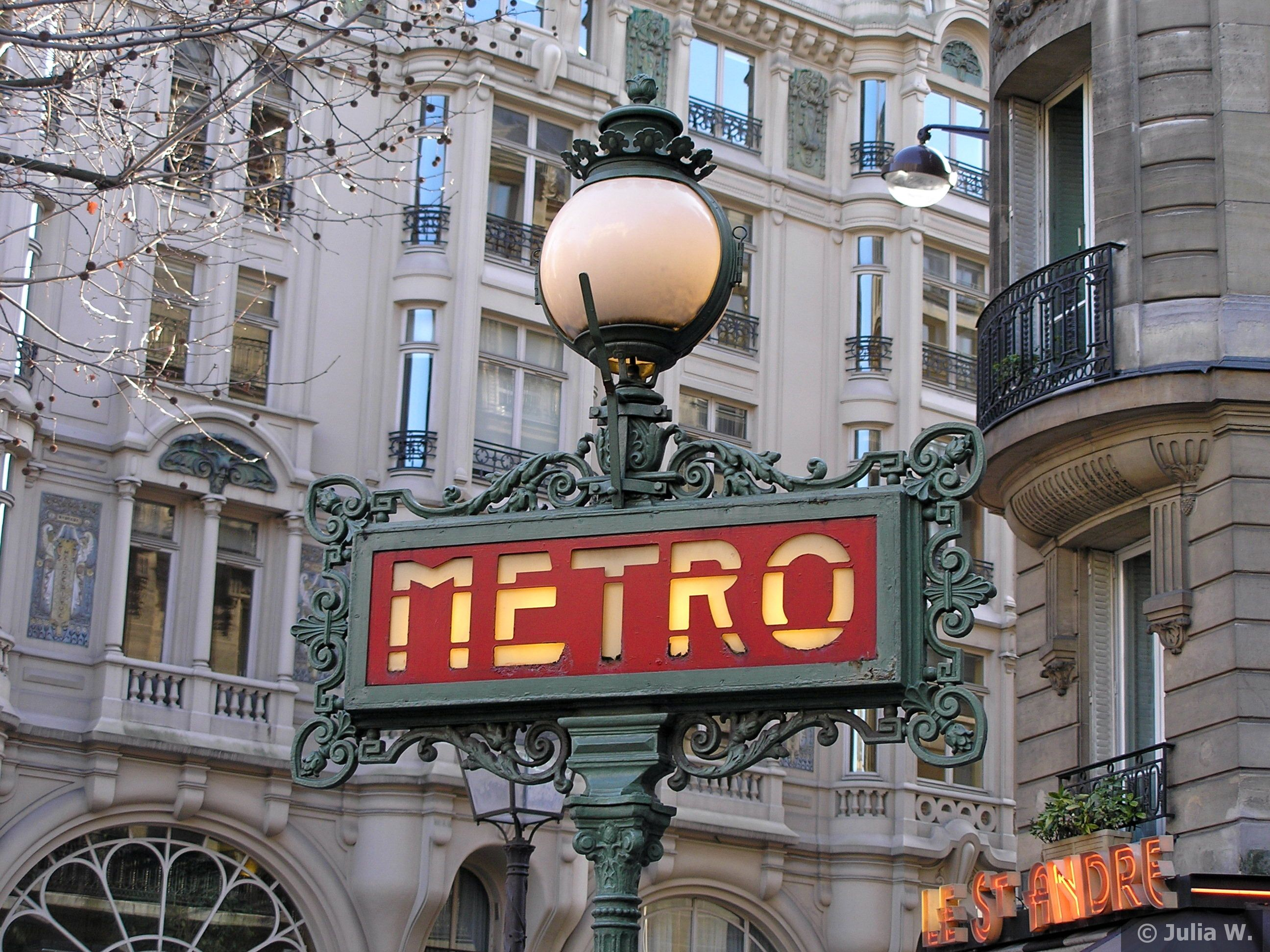 The Paris Métro | Paris metro