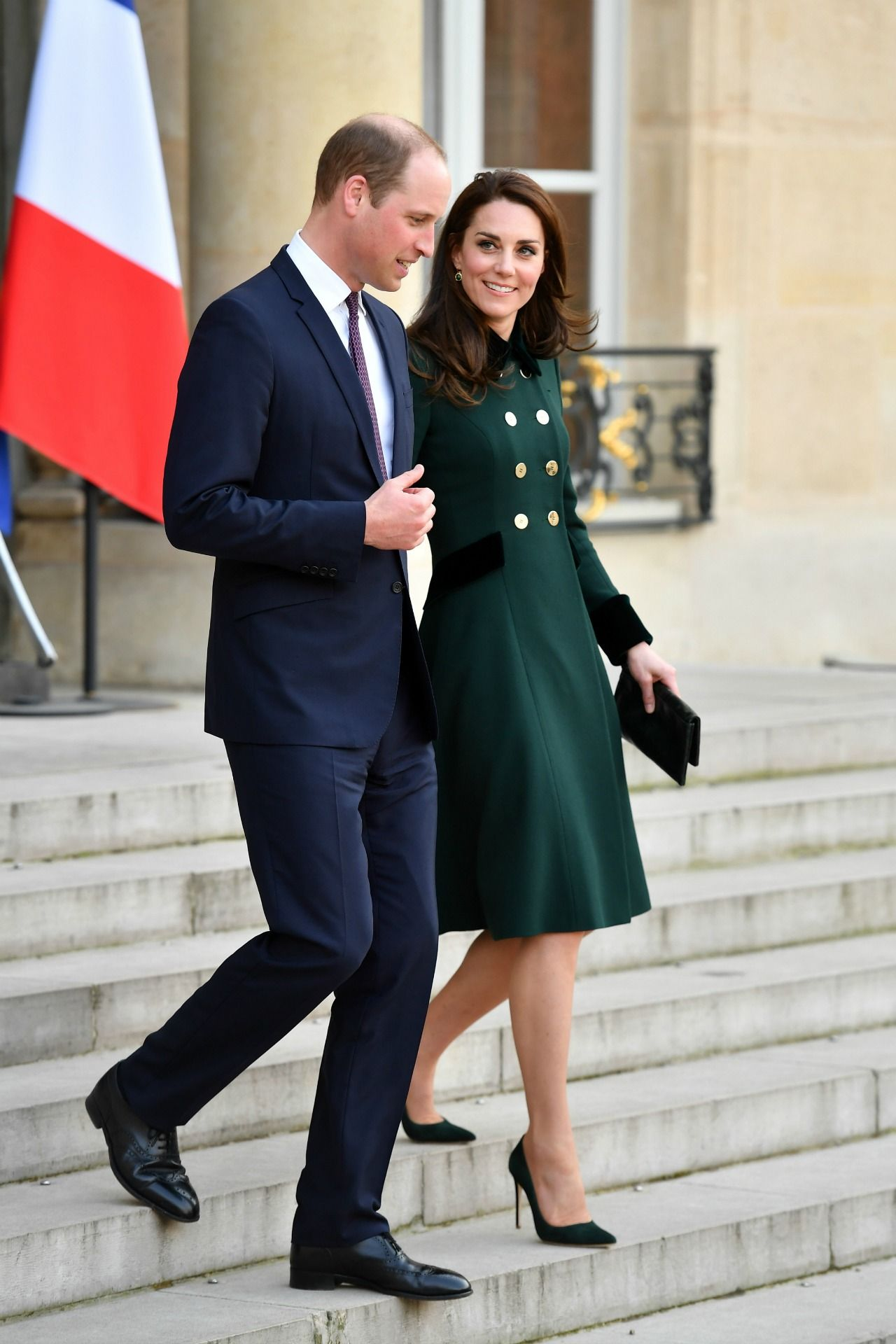 Prince William Returns to Paris With Kate Middleton for the First ...