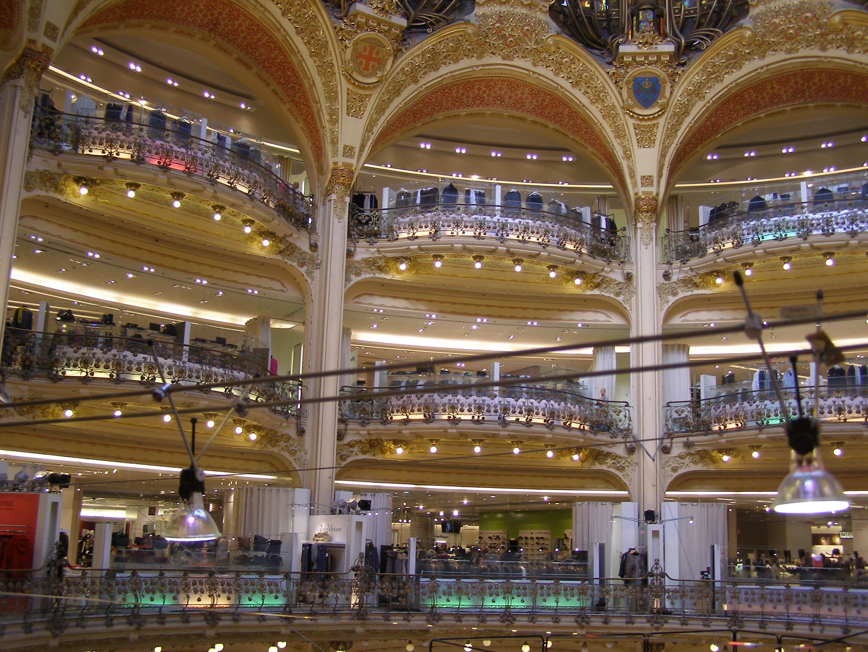 Paris - shopping mall photo
