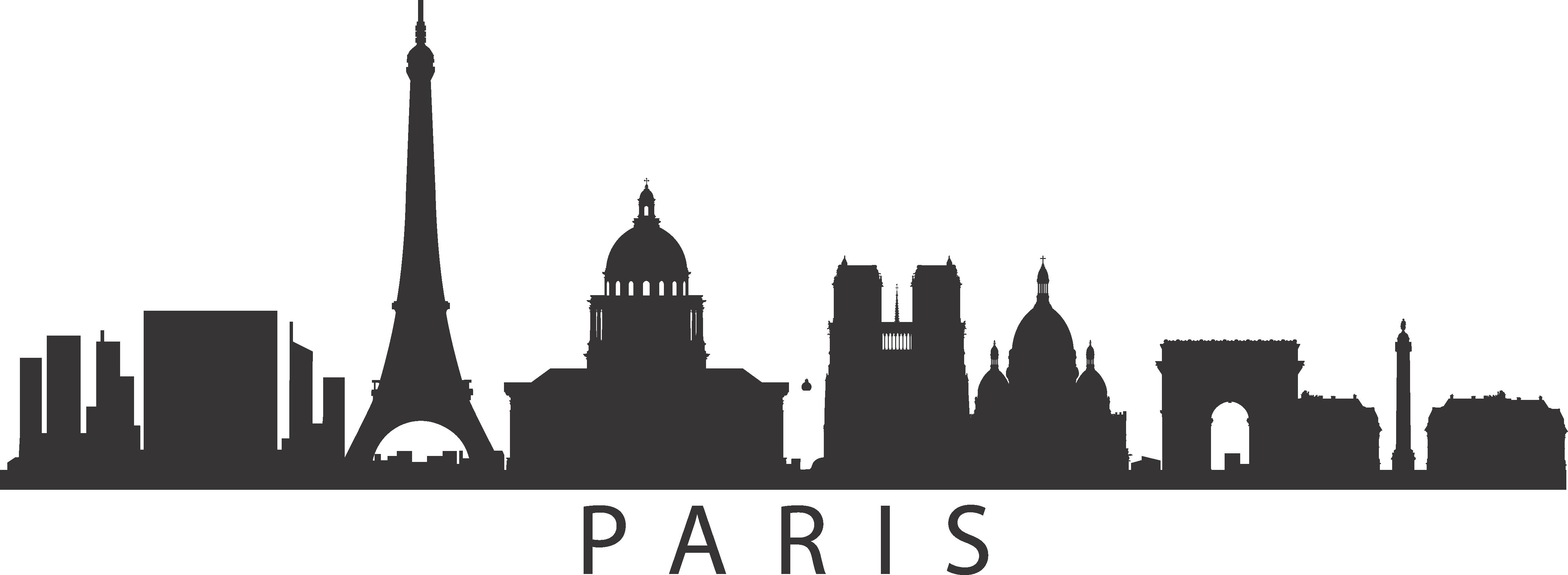 PrintWallArt | Paris Skyline
